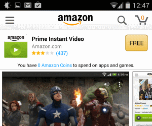 watch amazon prime instant video on android tablet using since last