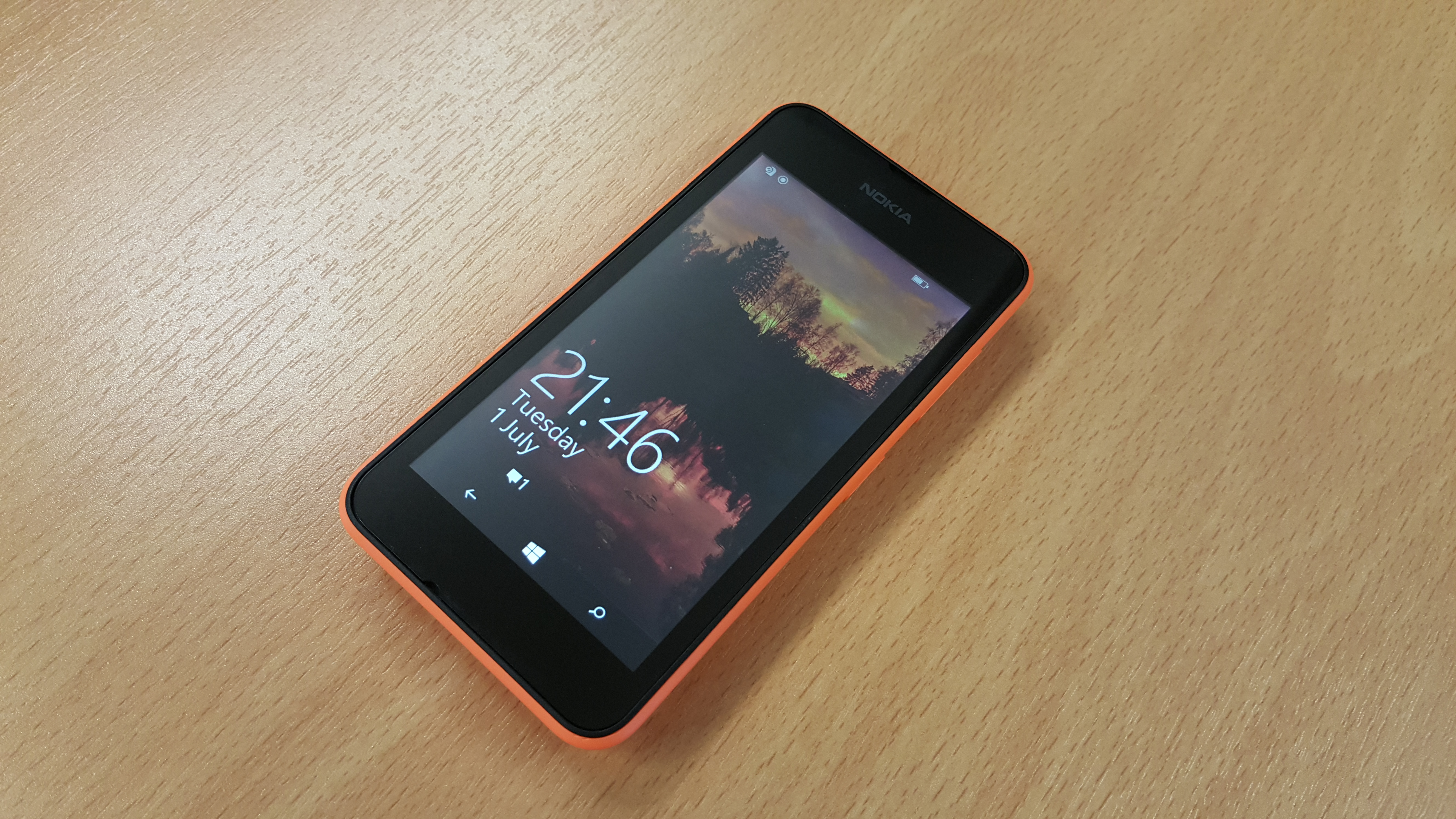However, You Only Need To Switch On The Lumia 530 To See Where Nokia Has  Cut Corners To Keep The Price Down The Phone's 4in 854x480 Display Not  Only Has A