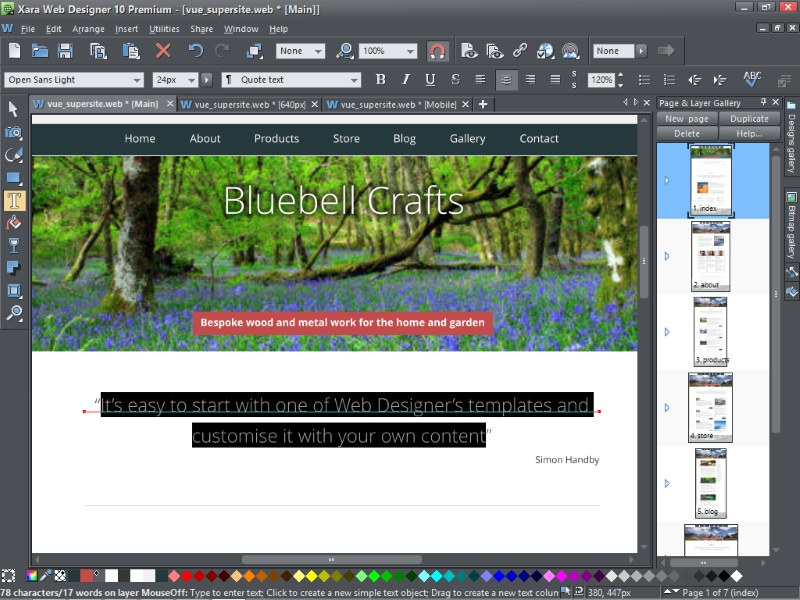 Xara Web Designer 10 Premium review | Expert Reviews