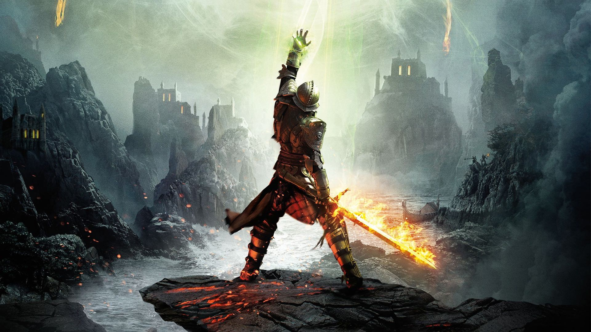 Dragon Age Inquisition Character Poster Dragon Age Inquisition Review