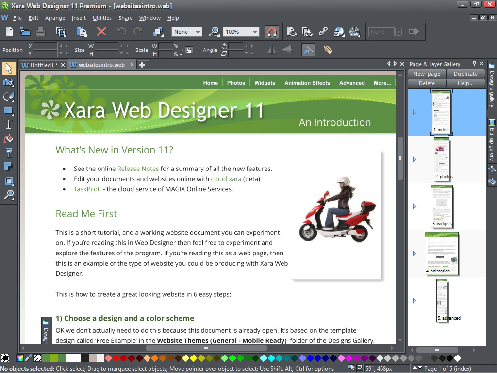 xara web designer 11 premium review expert reviews