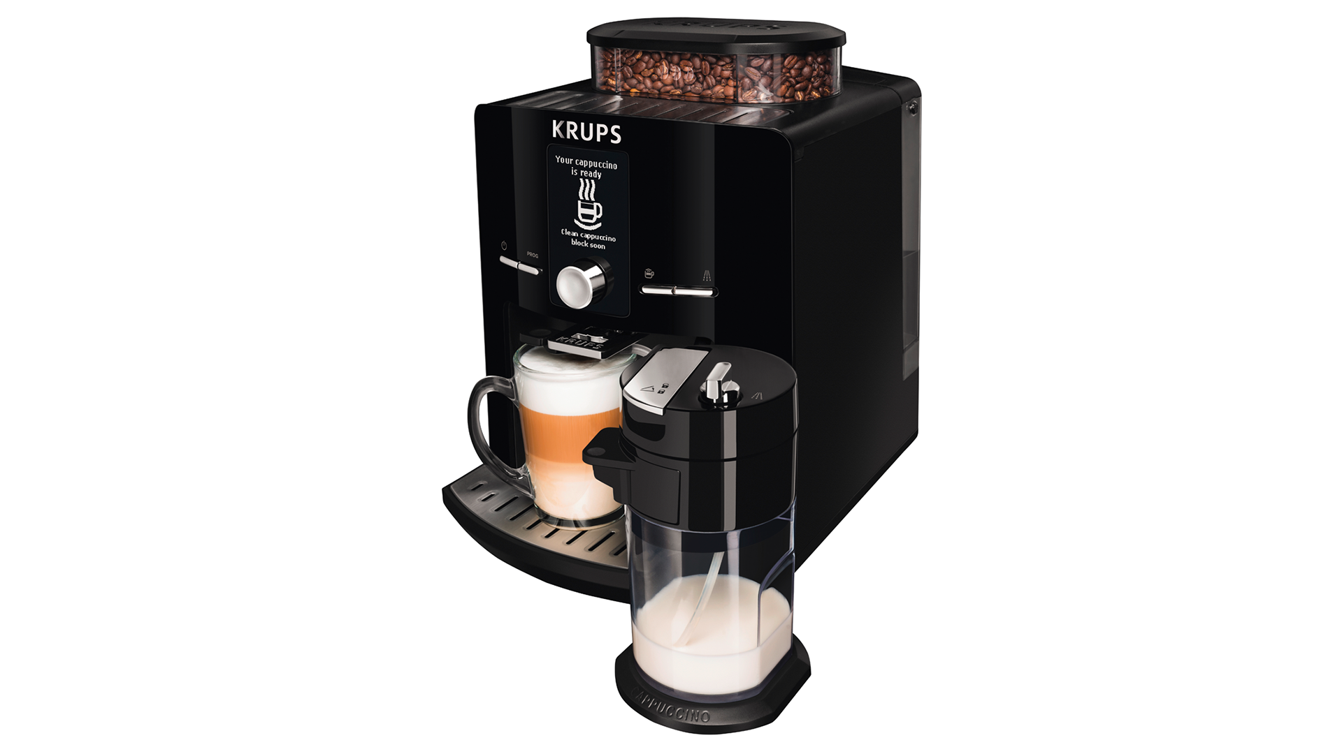 Krups Coffee Maker Reviews Ratings : Krups EA8298 Espresseria review Expert Reviews