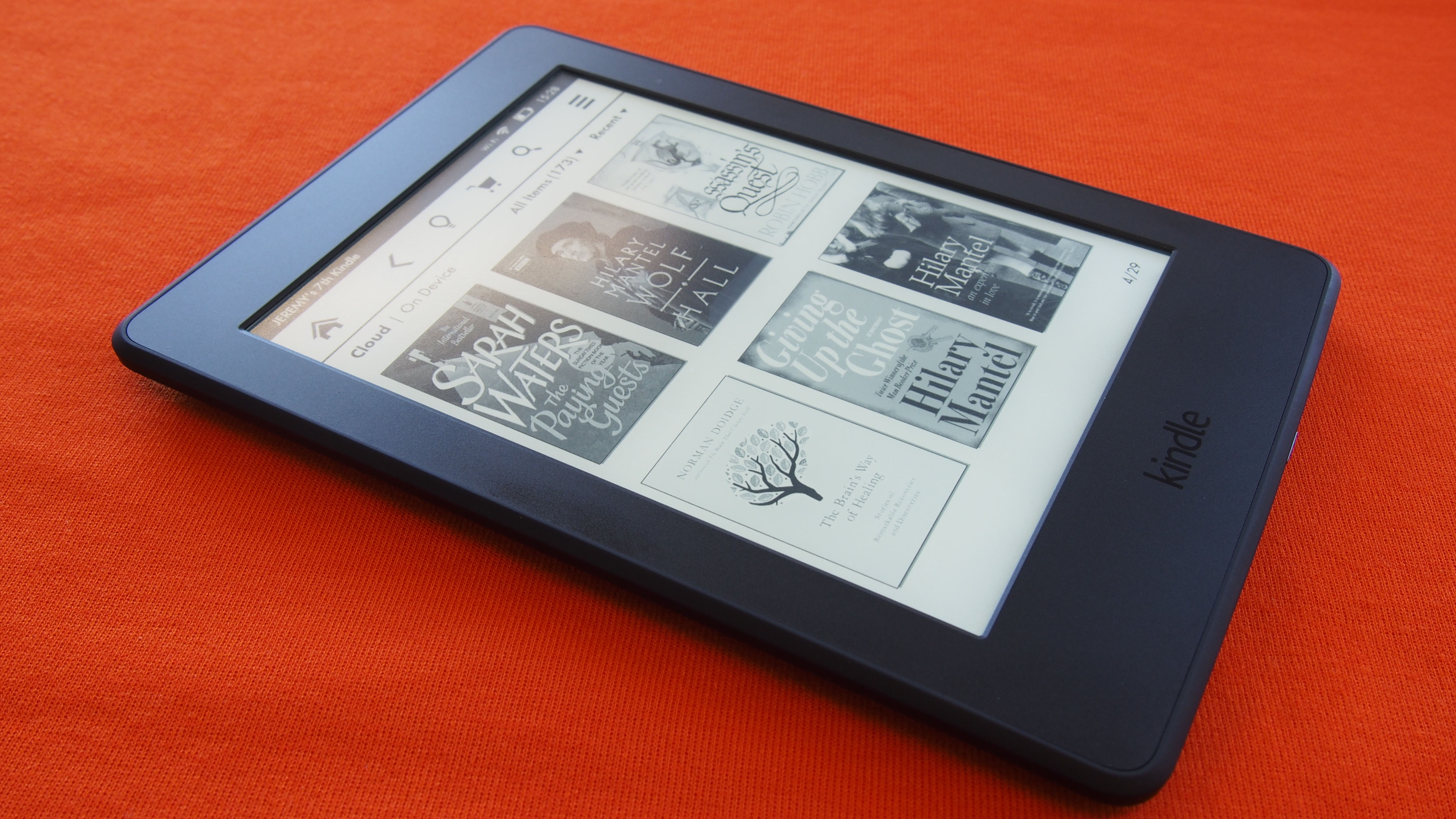 Amazon kindle paperwhite review great resolution but the features aren t extensive expert reviews