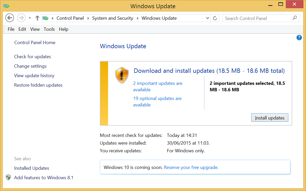 how to upgrade to windows 10 and get your new licence key expert rh expertreviews co uk manually run windows update windows 10 Update Flash Windows 8