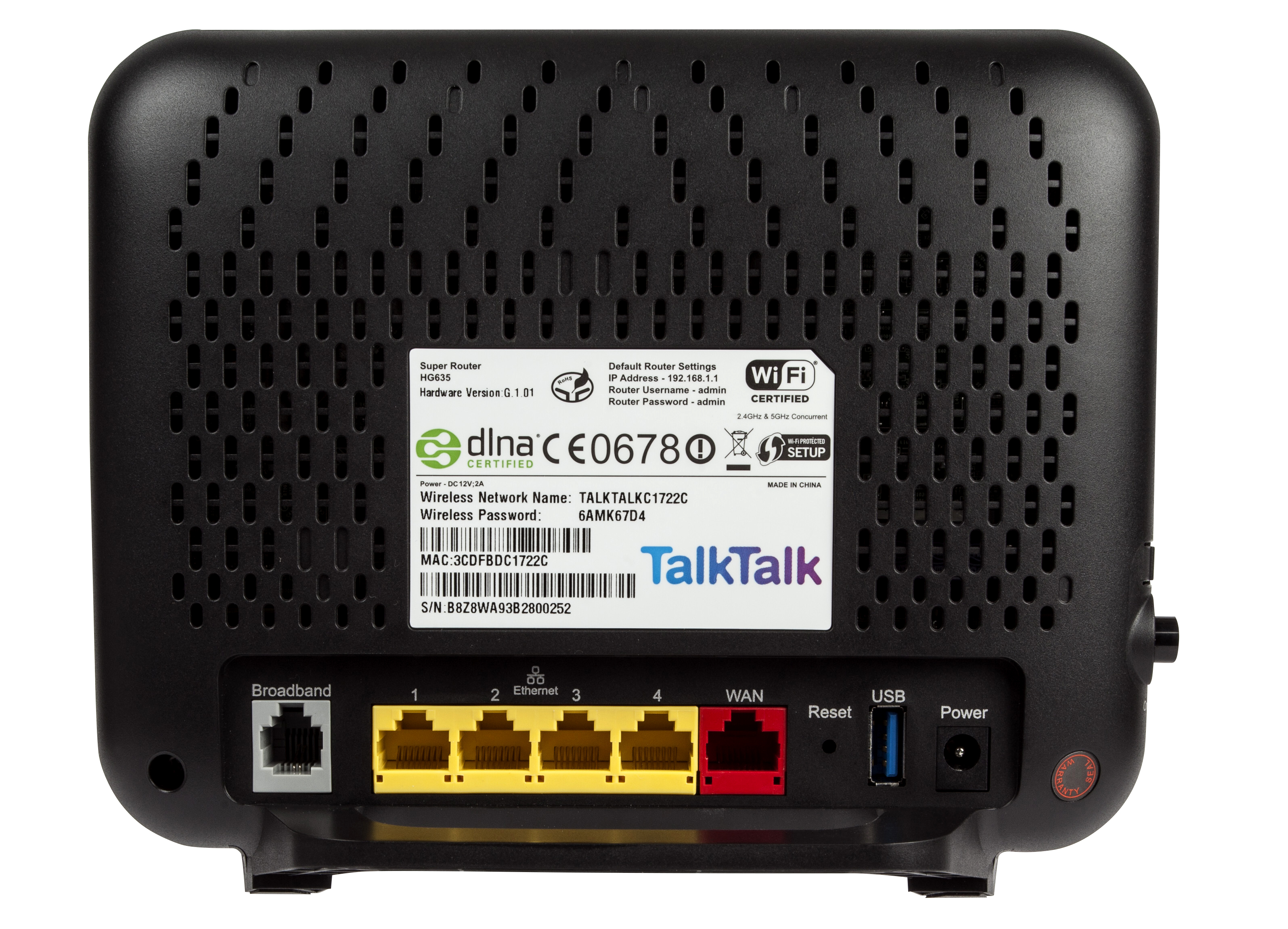 Talktalk hg635 super router review expert reviews for What does spec home mean
