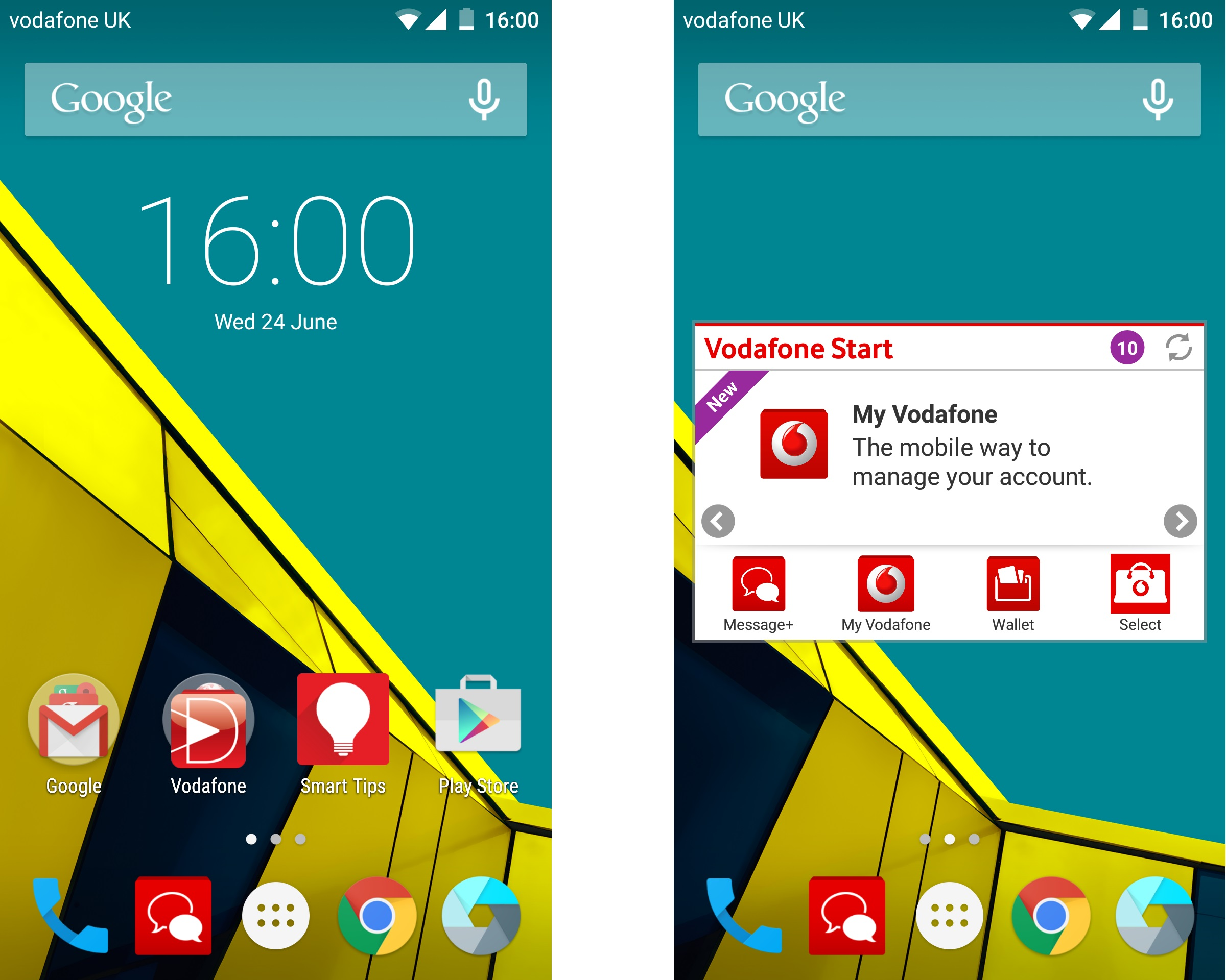 Vodafone Smart Ultra 6 Android