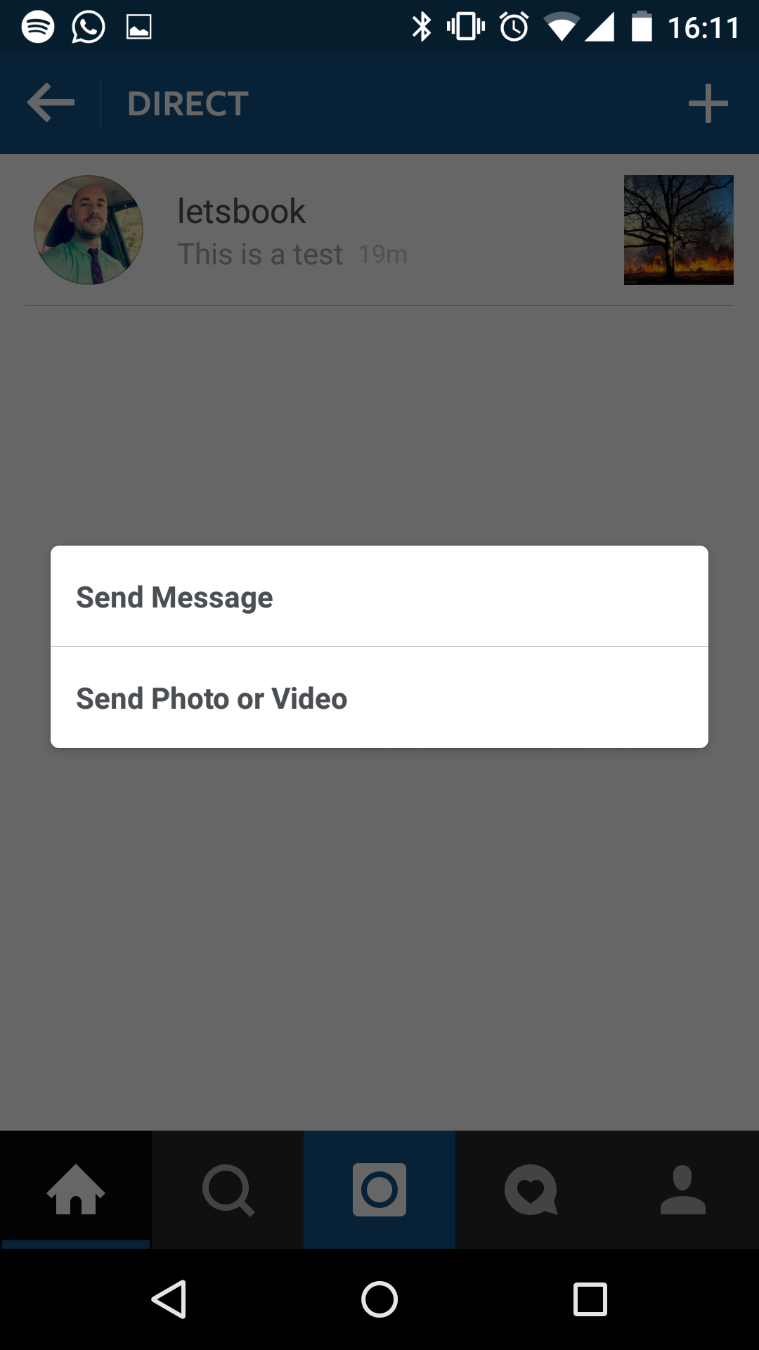 how to download instagram direct message