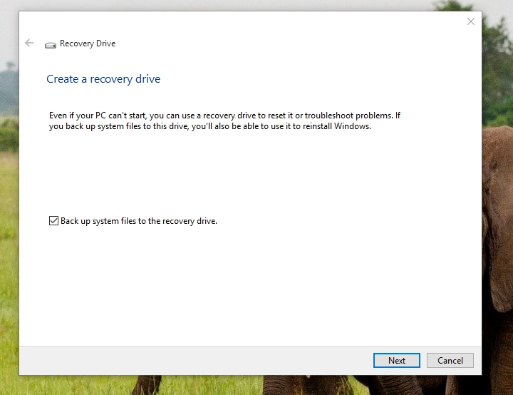 how to make a boot drive windows 10