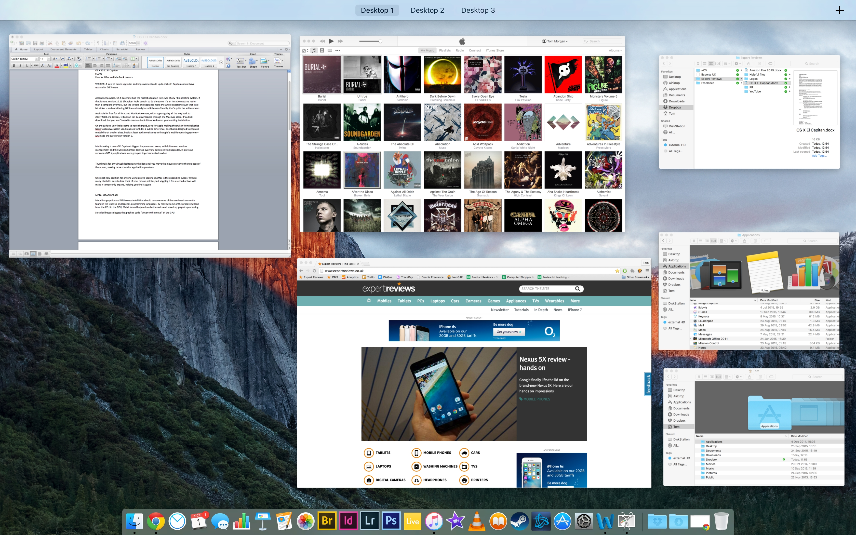 Apple os x 1011 el capitan review expert reviews mission control os x el capitan ccuart Gallery