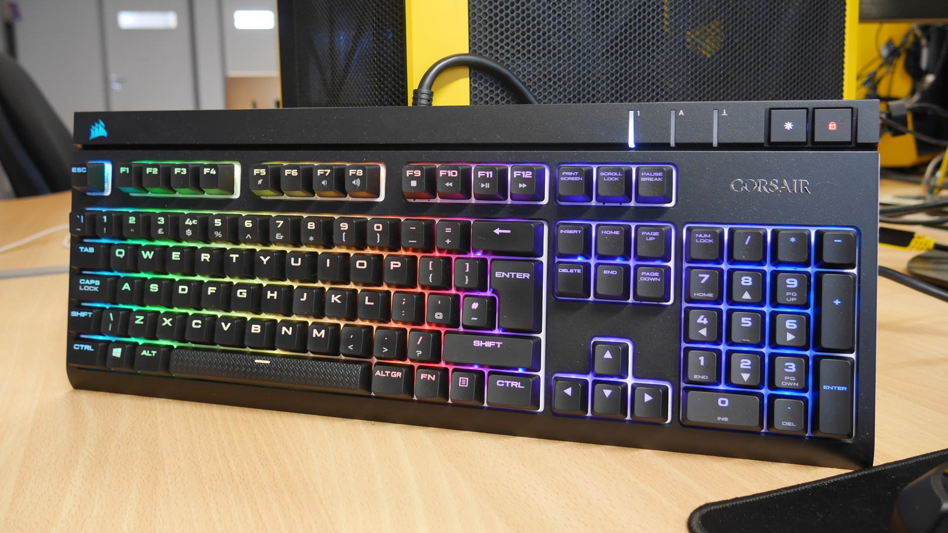 Corsair Strafe Silent Rgb Light Up Keys And Conclusion