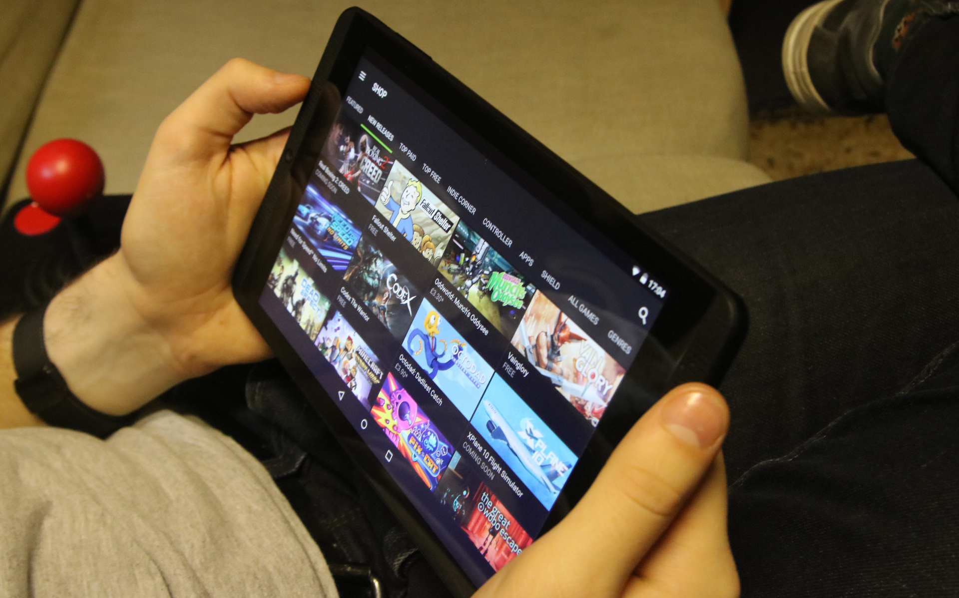 Nvidia Shield Tablet K1 Review Now With Android