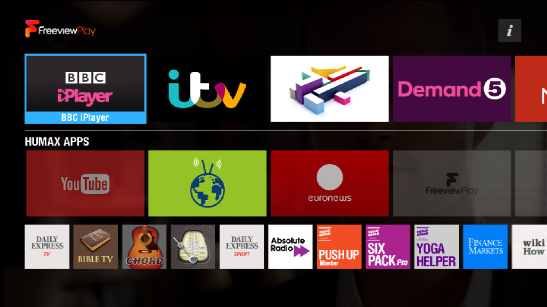 Humax fvp 4000t review freeview play is here expert for Tv on demand