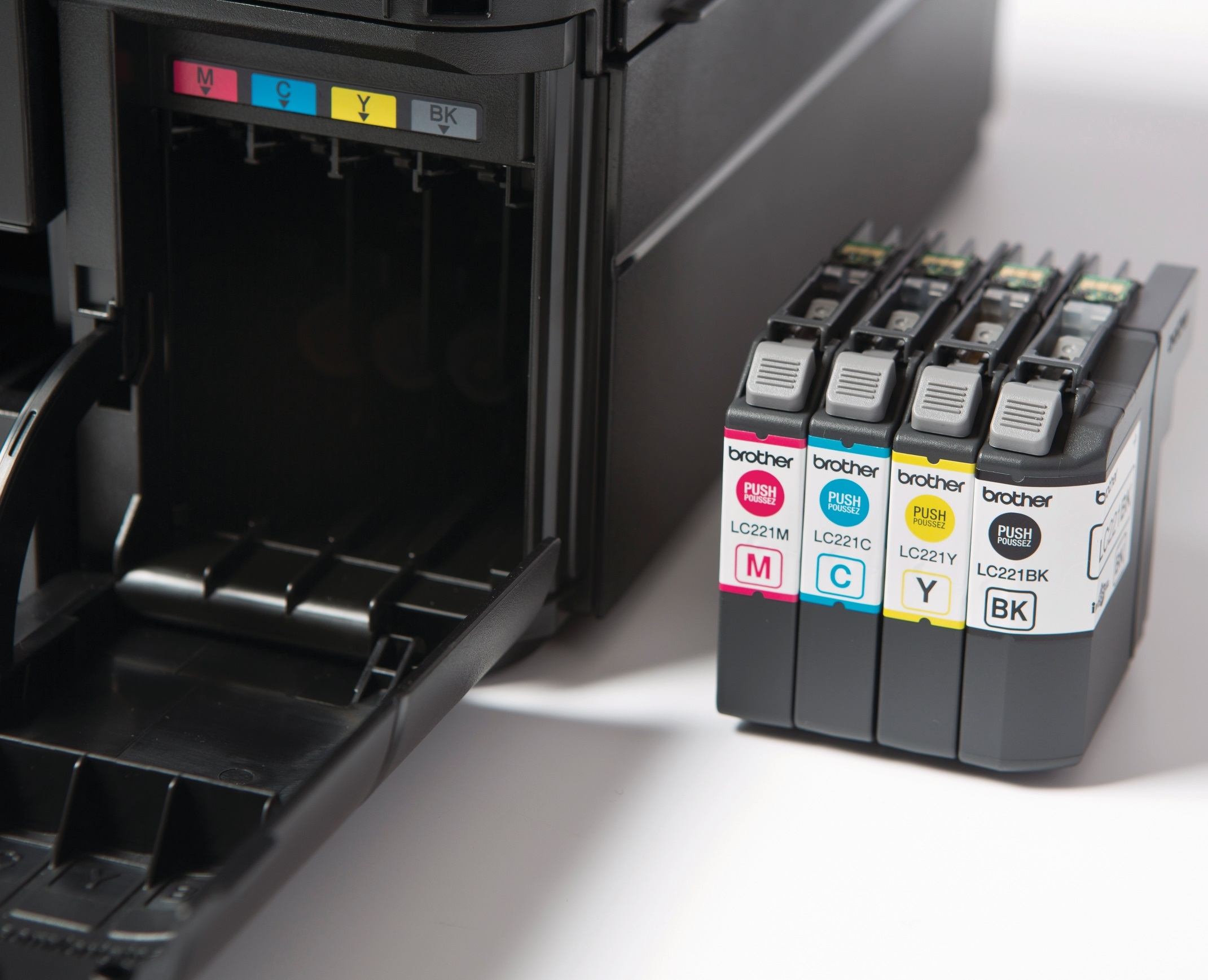 Ink & Toner Auto-Fulfillment Programs. There's never a good time to run out of ink or toner. That's why we make it easy to have Brother Genuine ink or toner automatically shipped directly to .