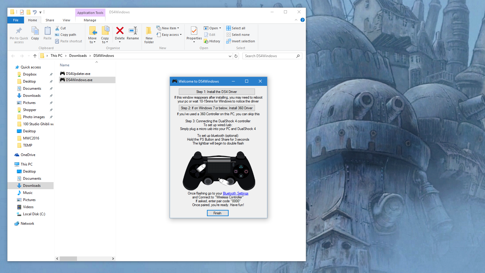 How to use a PS4 controller on PC - Play with your DualShock 4 wired ...