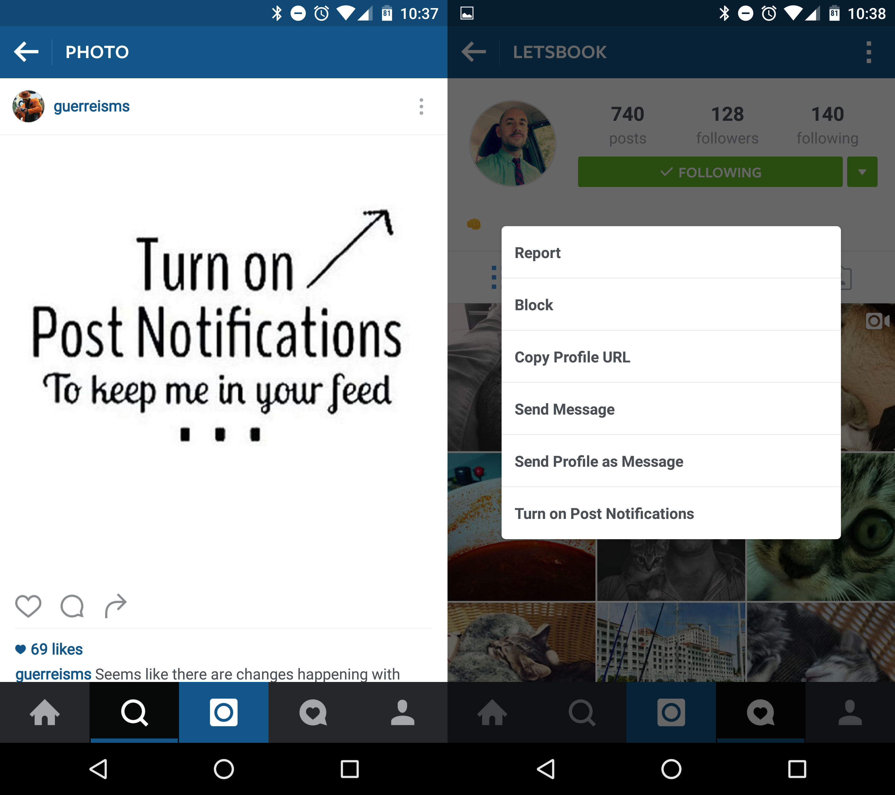 Instagram's new algorithmic timeline – how to use
