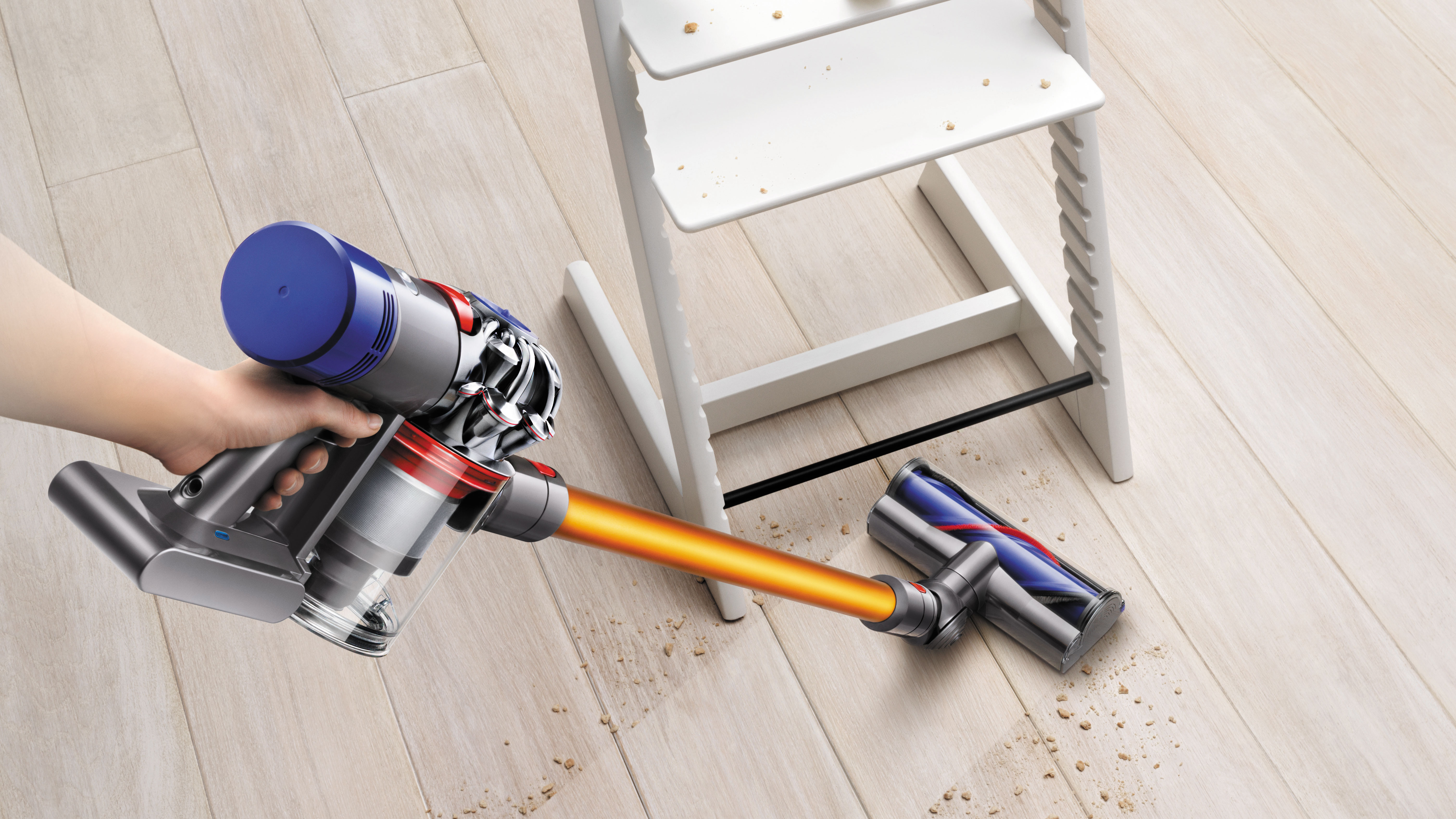 Best Dyson Cordless Vacuum >> Dyson doubles the battery life of its cordless vacuums with the V8 Absolute | Expert Reviews