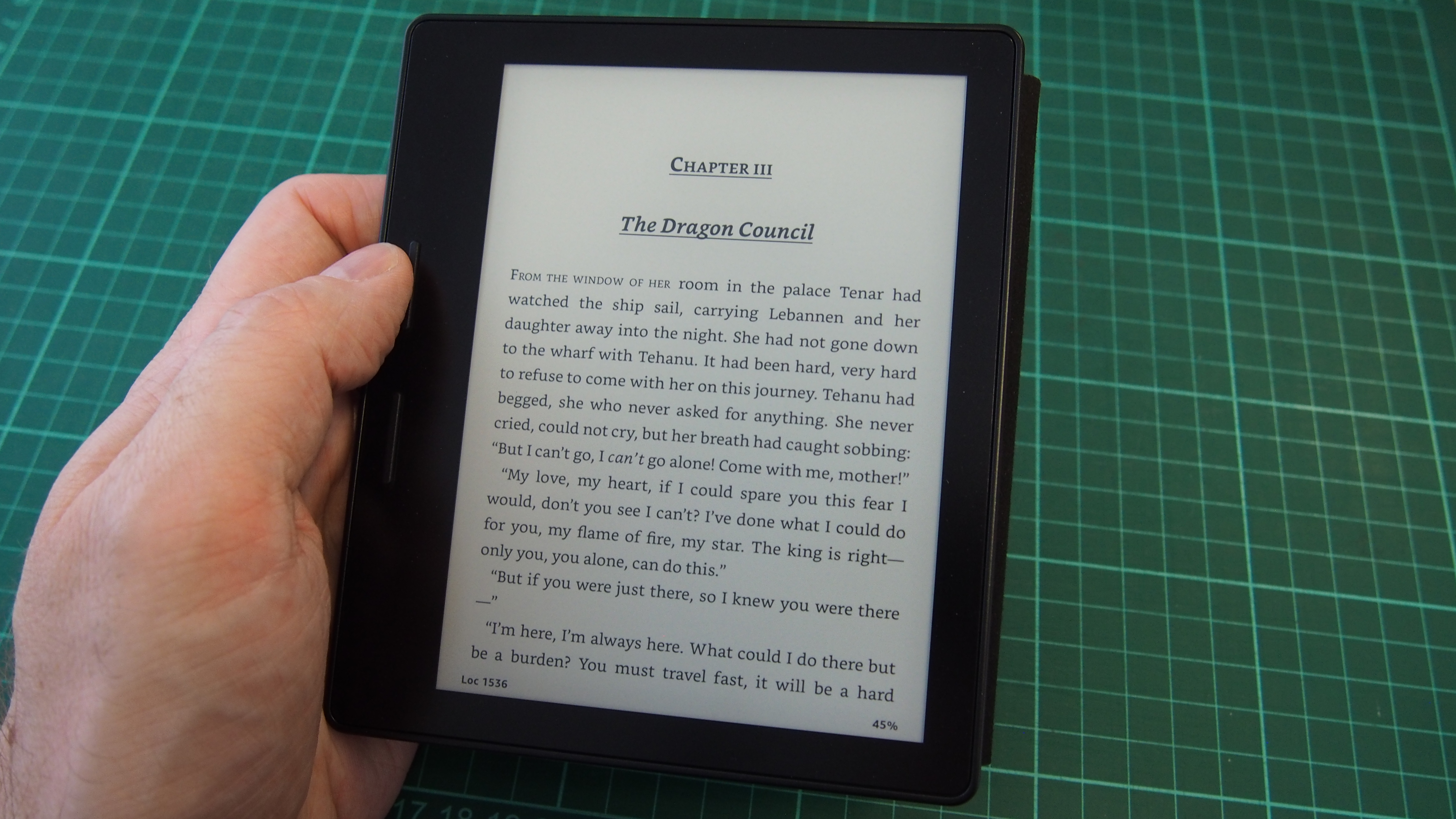kindle range review