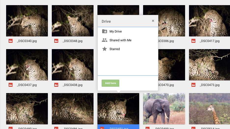 how to add multiple google drive