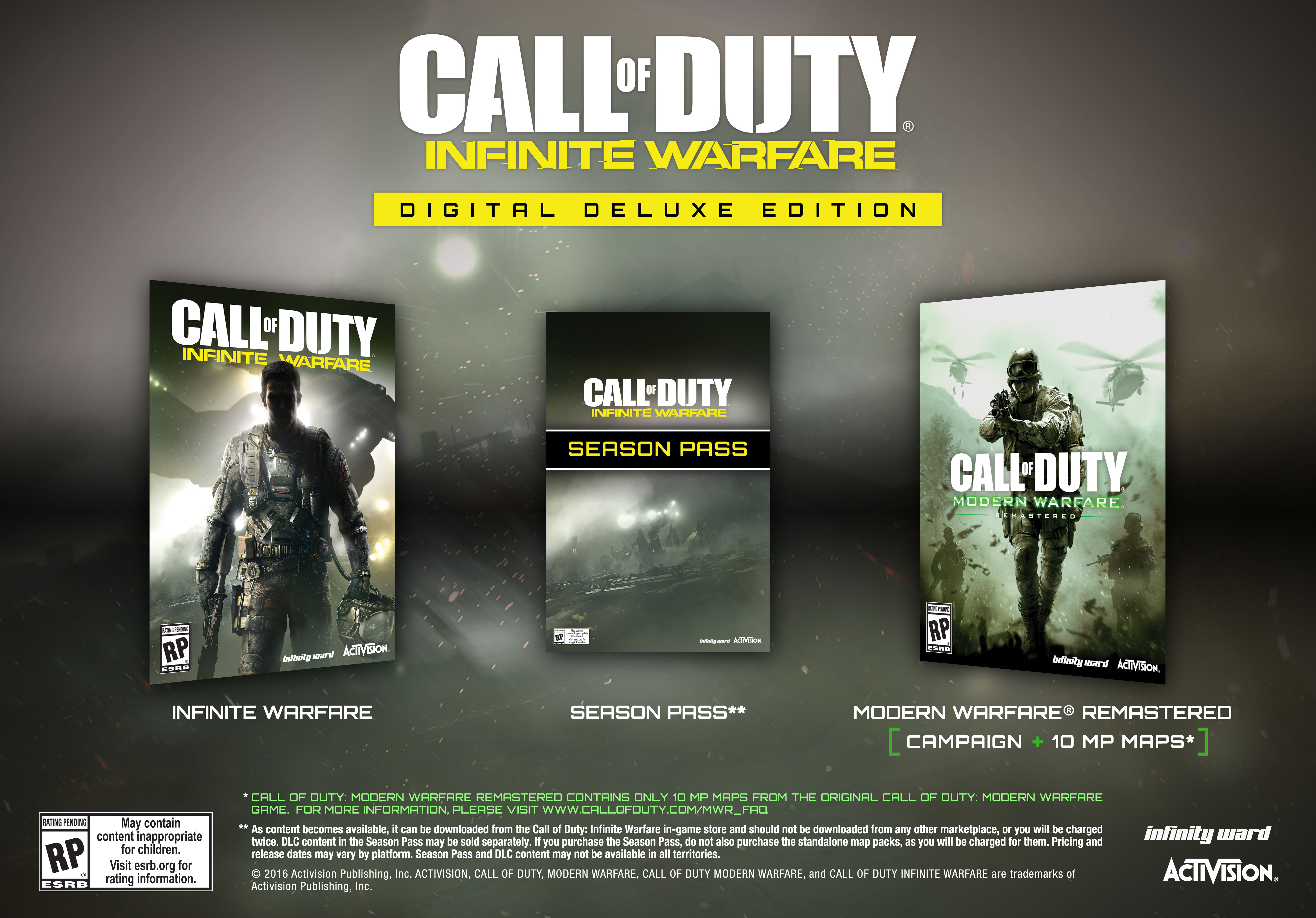 Call of duty release dates