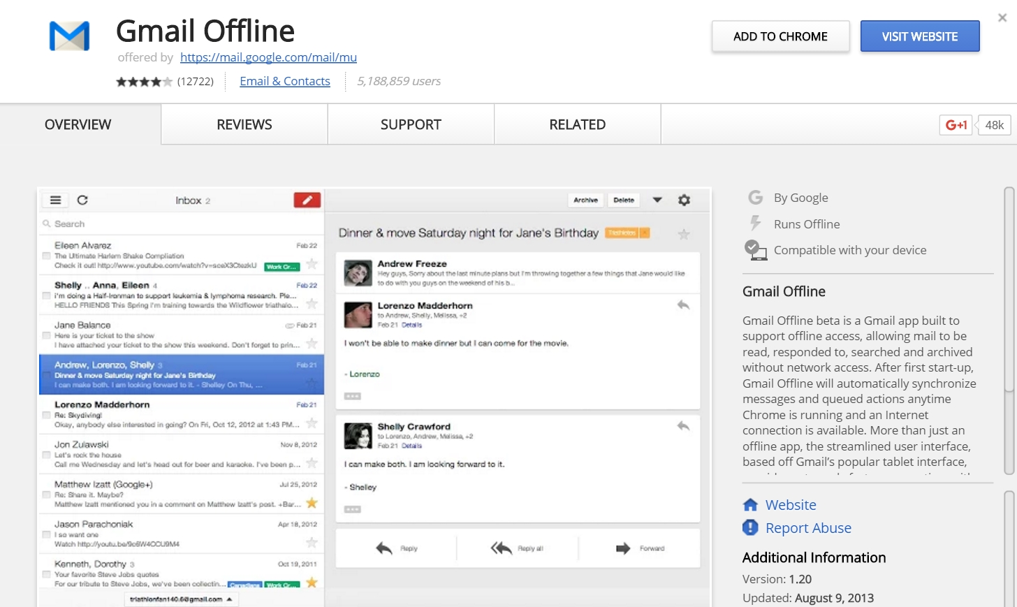 How to use gmail offline mac pc and chromebook expert reviews gmail offline app buycottarizona Choice Image