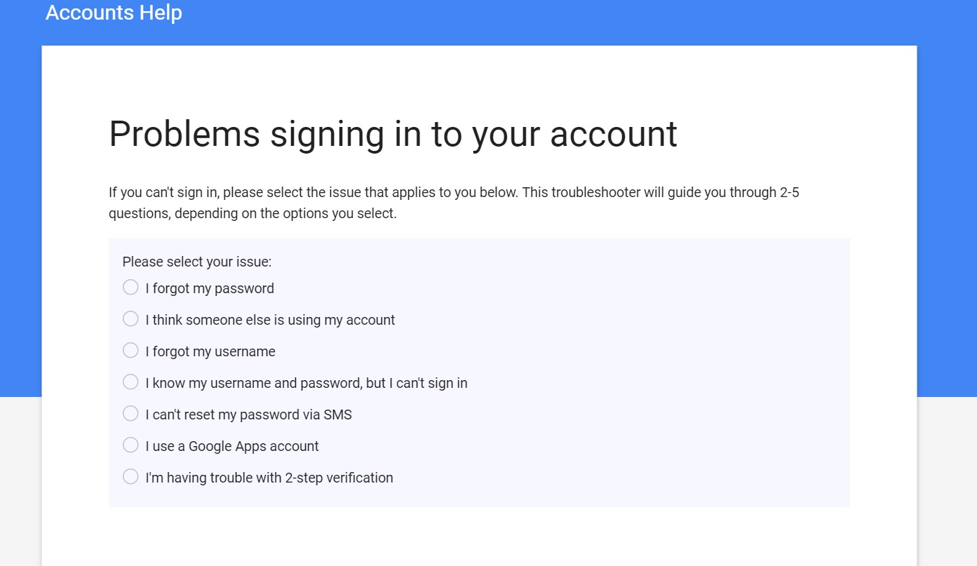 gmail detects warns someone else using your account