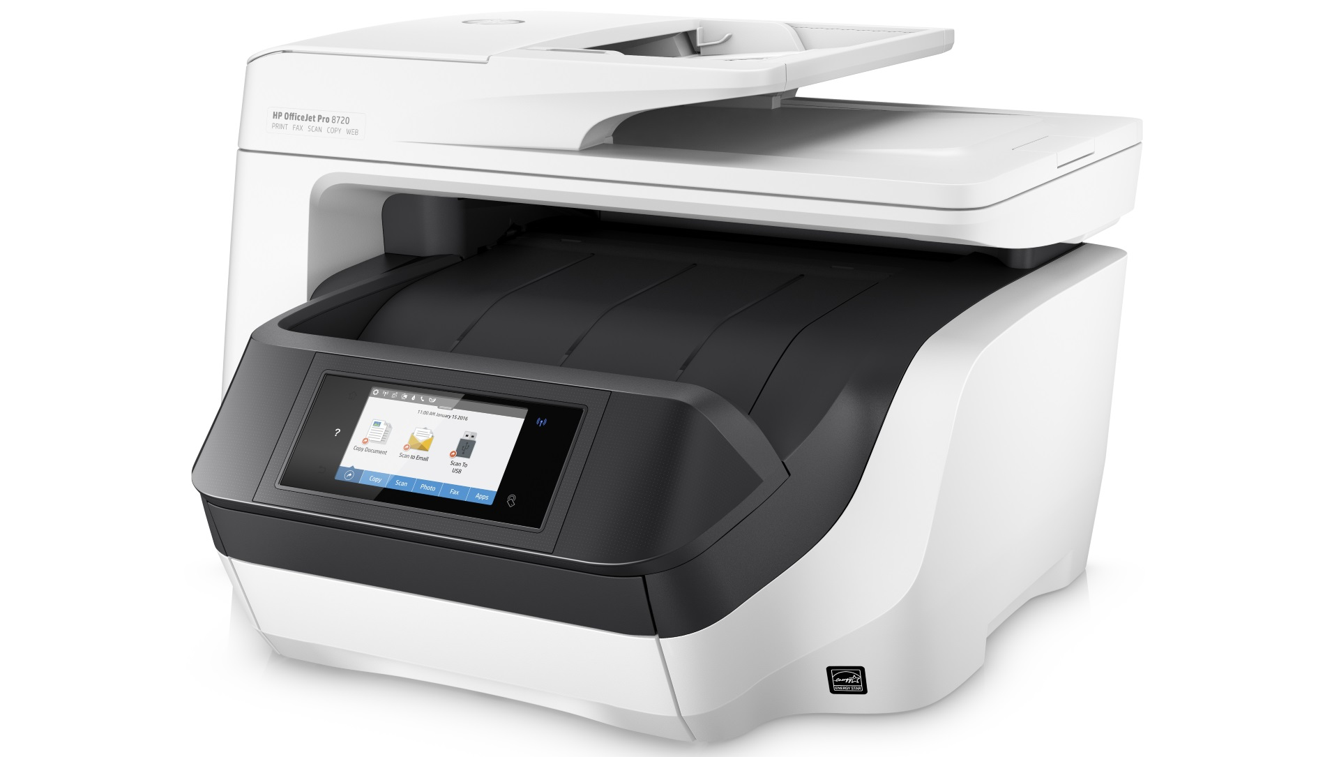 Hp officejet pro 8720 review expert reviews for Best home office multifunction printers