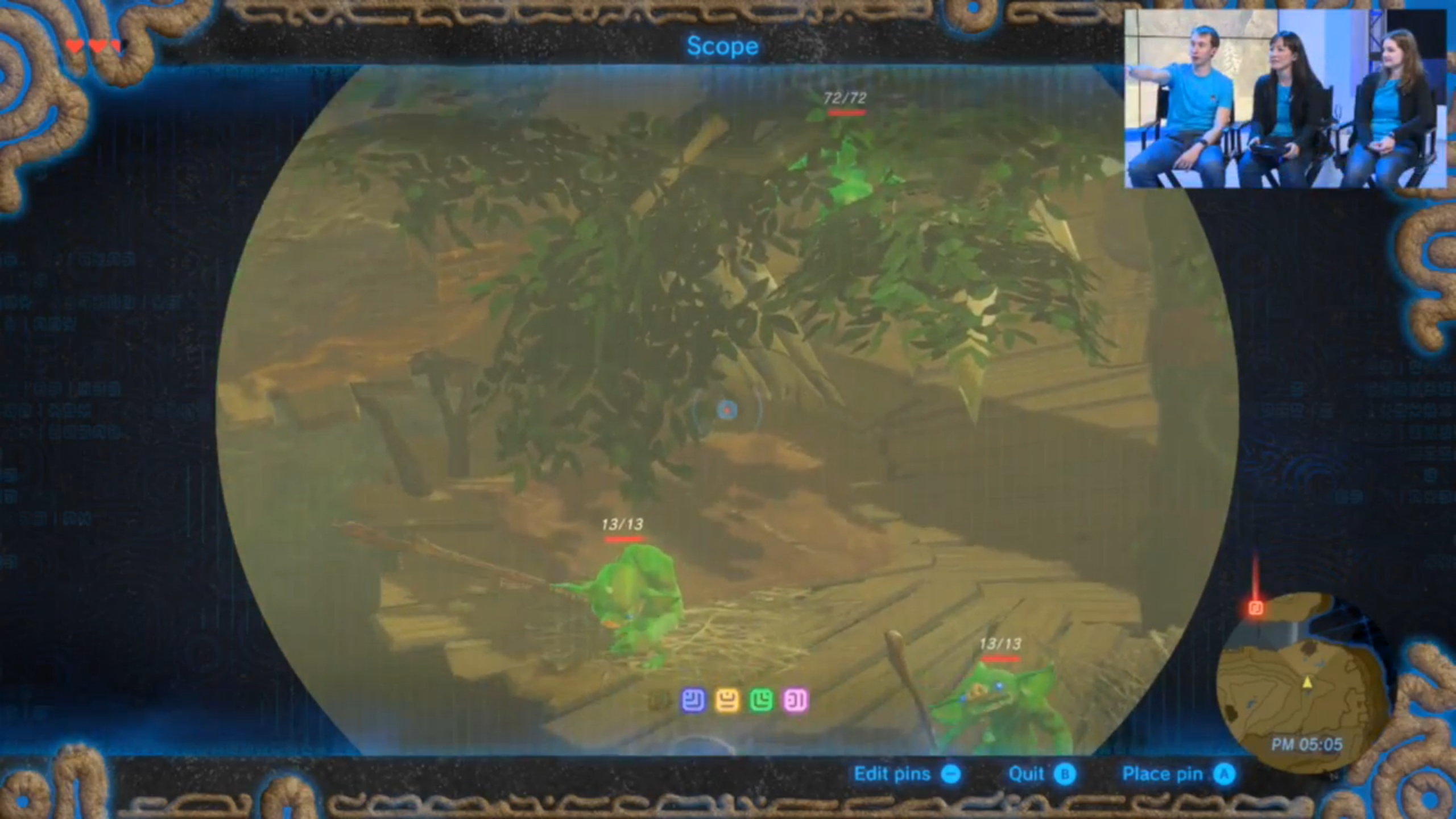 breath of thevwild how to find first marker on slate