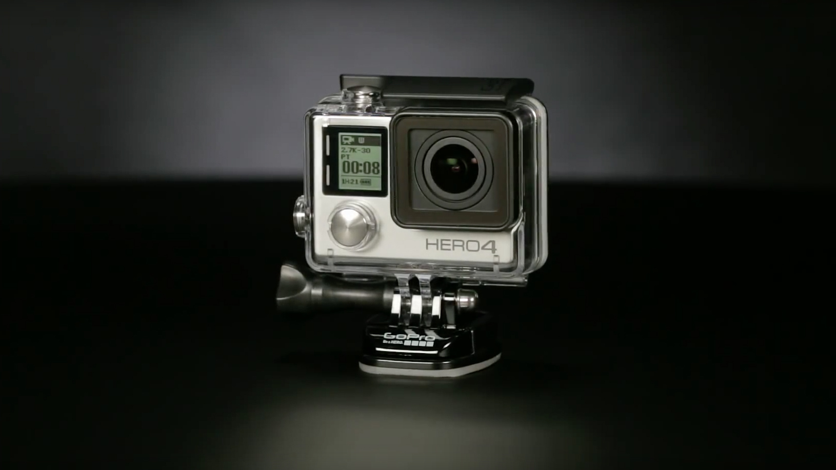 At around £250, the GoPro Hero4 Silver sits one below the top,of,the,line Hero4 Black. Containing the GoPro LCD Touch BacPac as standard \u2013 an optional extra