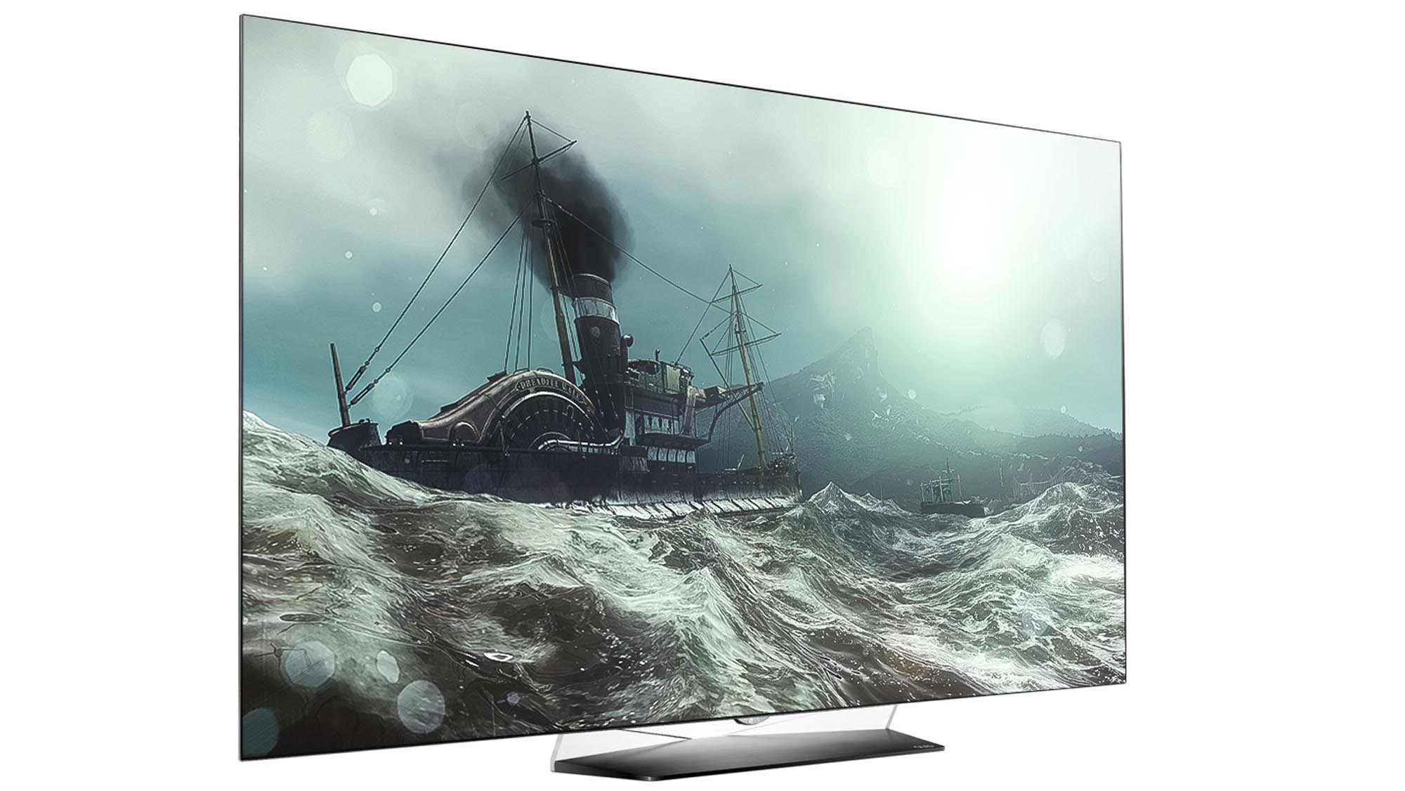 lg tv screen. next in line is a number, here being 55, which simply denotes the size of screen inches. this will obviously change depending on lg tv