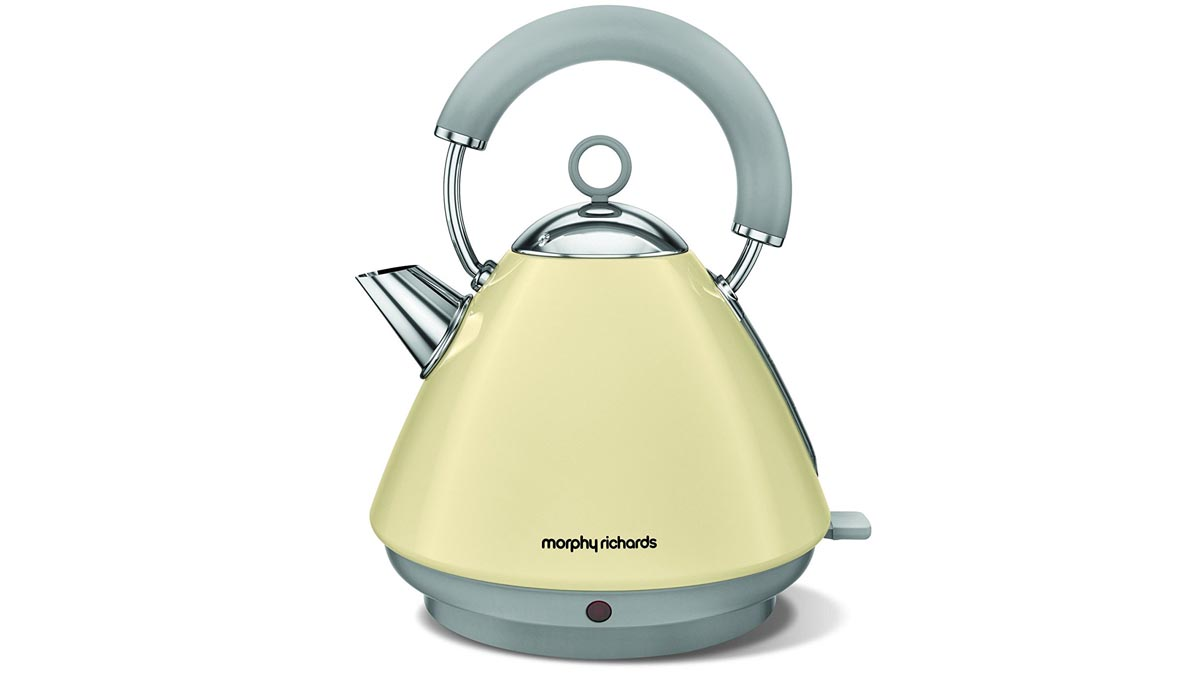 5l accents range only electricals co uk small kitchen appliances - 5 Morphy Richards 102029 Accents Pyramid Kettle The Best Kettle For Retro Looks