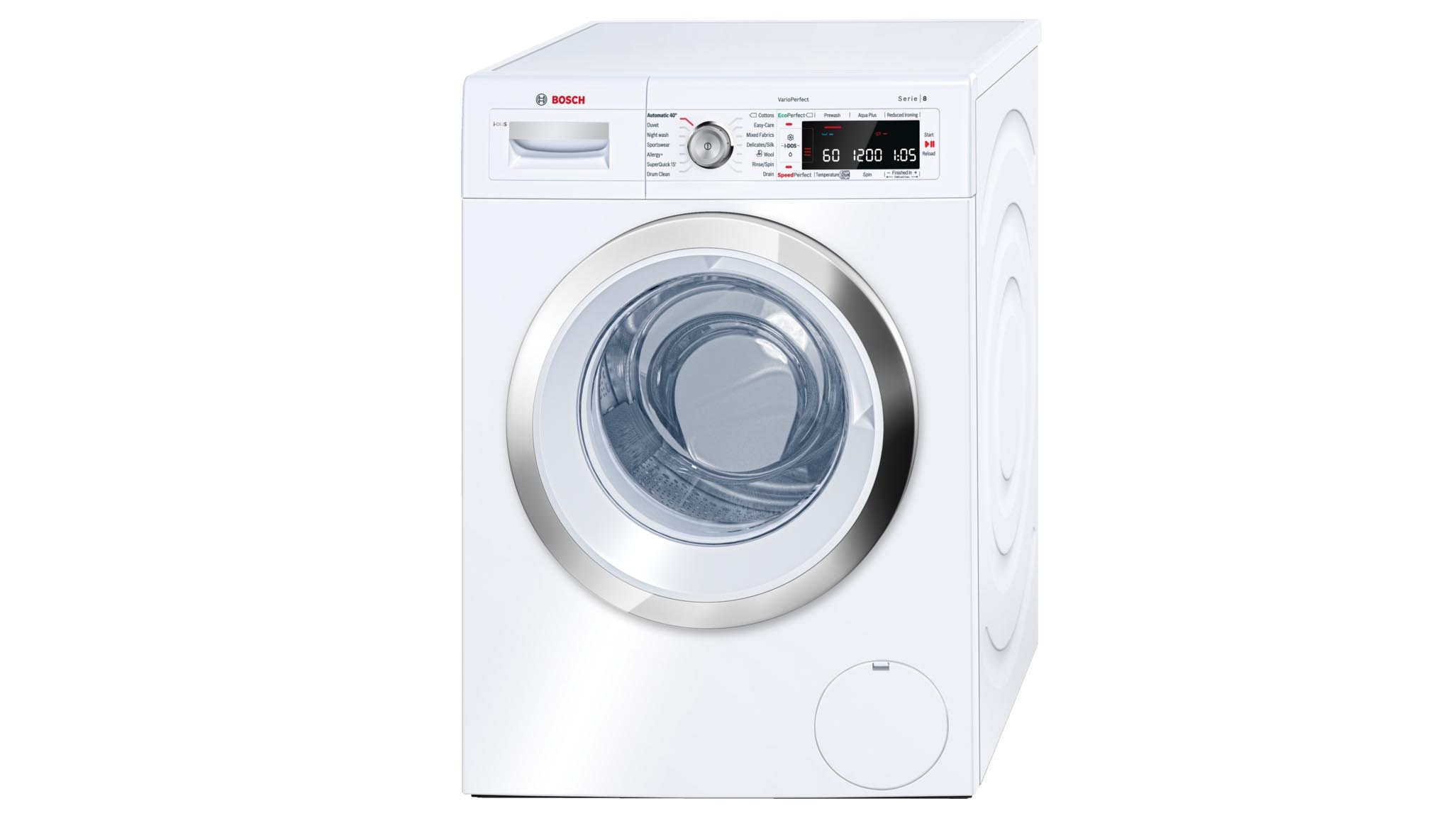 Marvelous Washing Machine With Dryer Uk Part - 2: Bosch Series 8 WAW28660GB: A Brilliant Washing Machine For Big Families