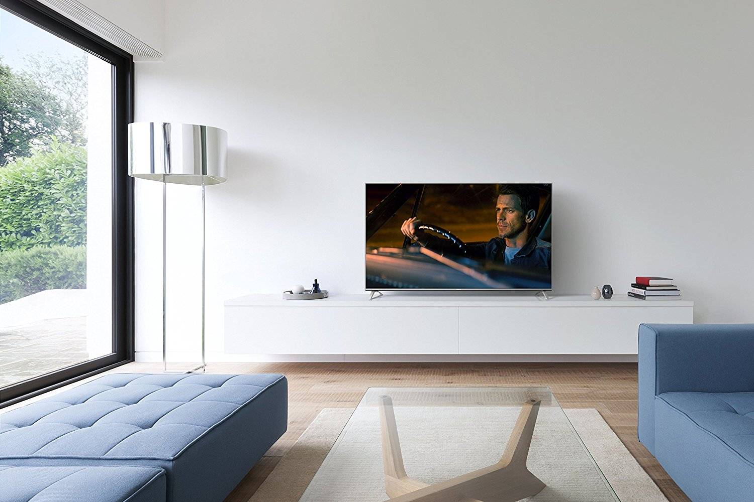 Best uk tv deals the top tv bargains in may 2018 from 4k for Samsung smart tv living room