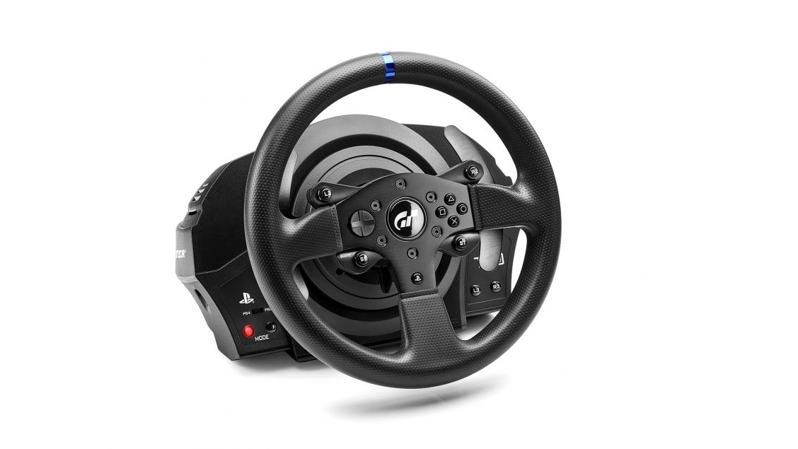 thrustmaster t300rs gt edition review the best steering wheel you can buy for gran turismo. Black Bedroom Furniture Sets. Home Design Ideas