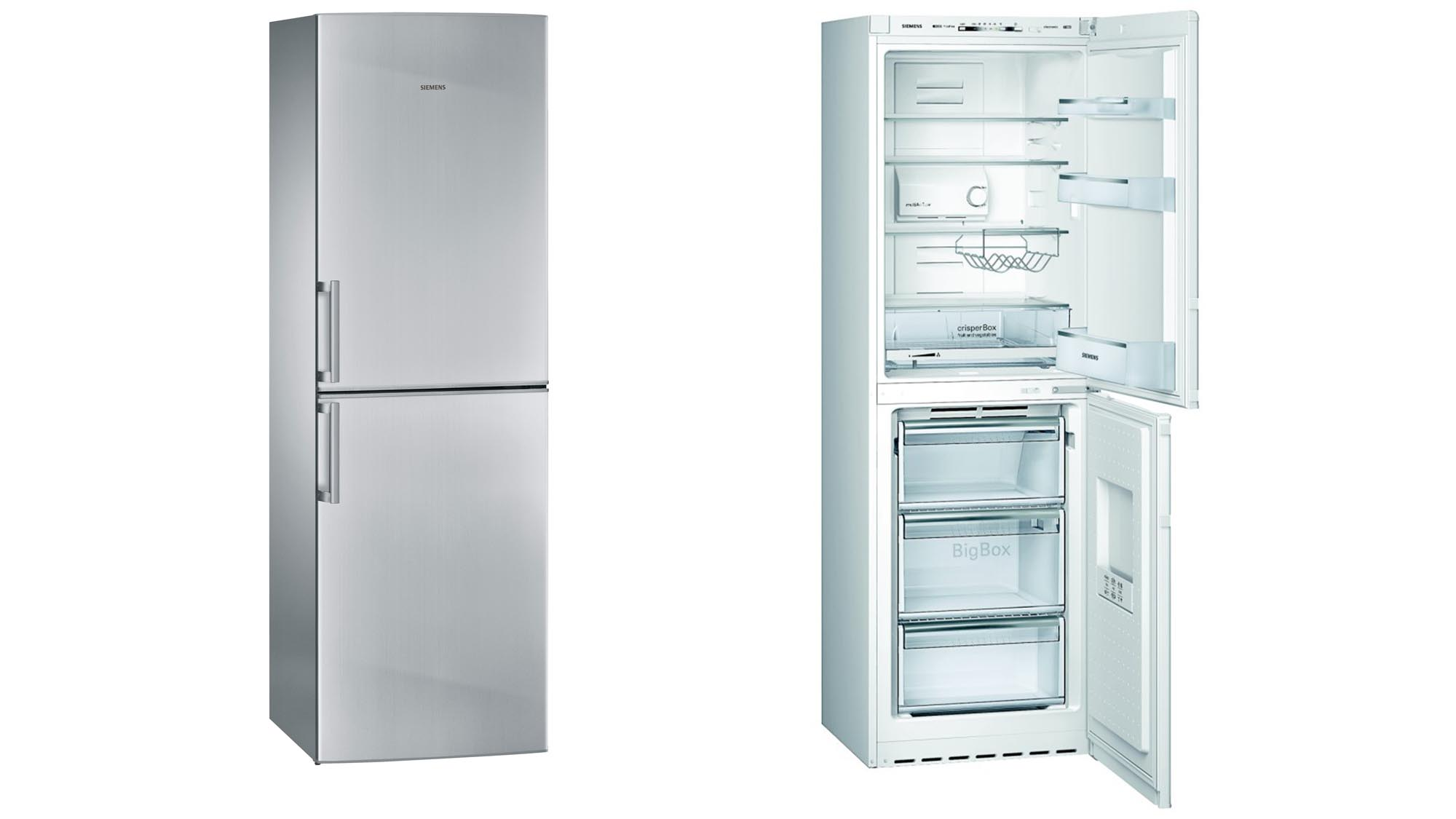 Best American Fridge Freezer Part - 28: Where Many Fridge Freezers Are Split 60/40 With A Lot More Space Given Over  To The Refrigeration Area, This Germanic Model Appears, At First Glance, ...