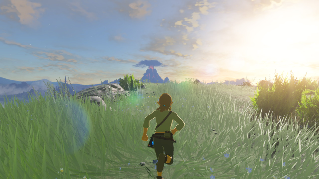 how to draw breath of the wild