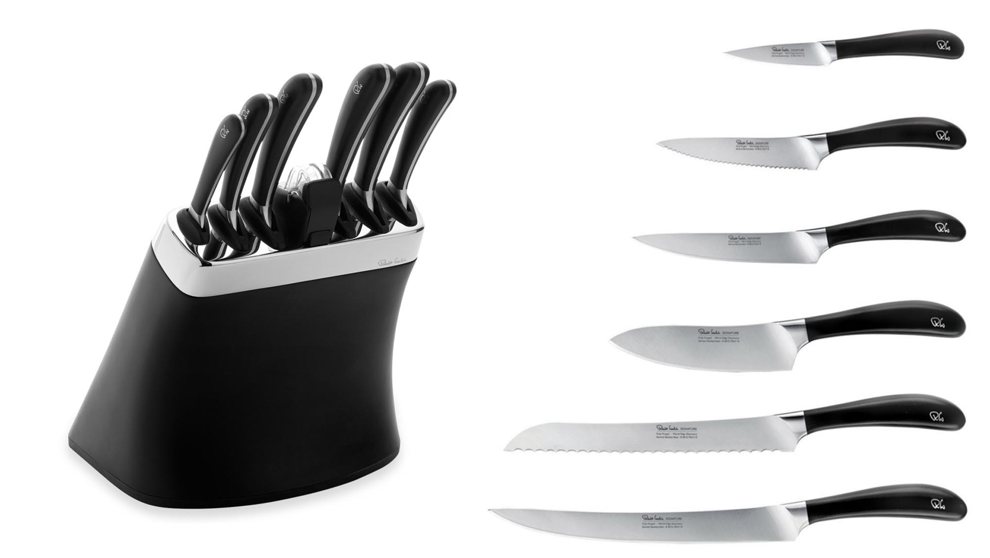 Best kitchen knives stay sharp with the best knife sets santoku while not exactly cheap you actually get a lot more bang for your buck with these six award winning design led and dishwasher safe knives than you do with teraionfo