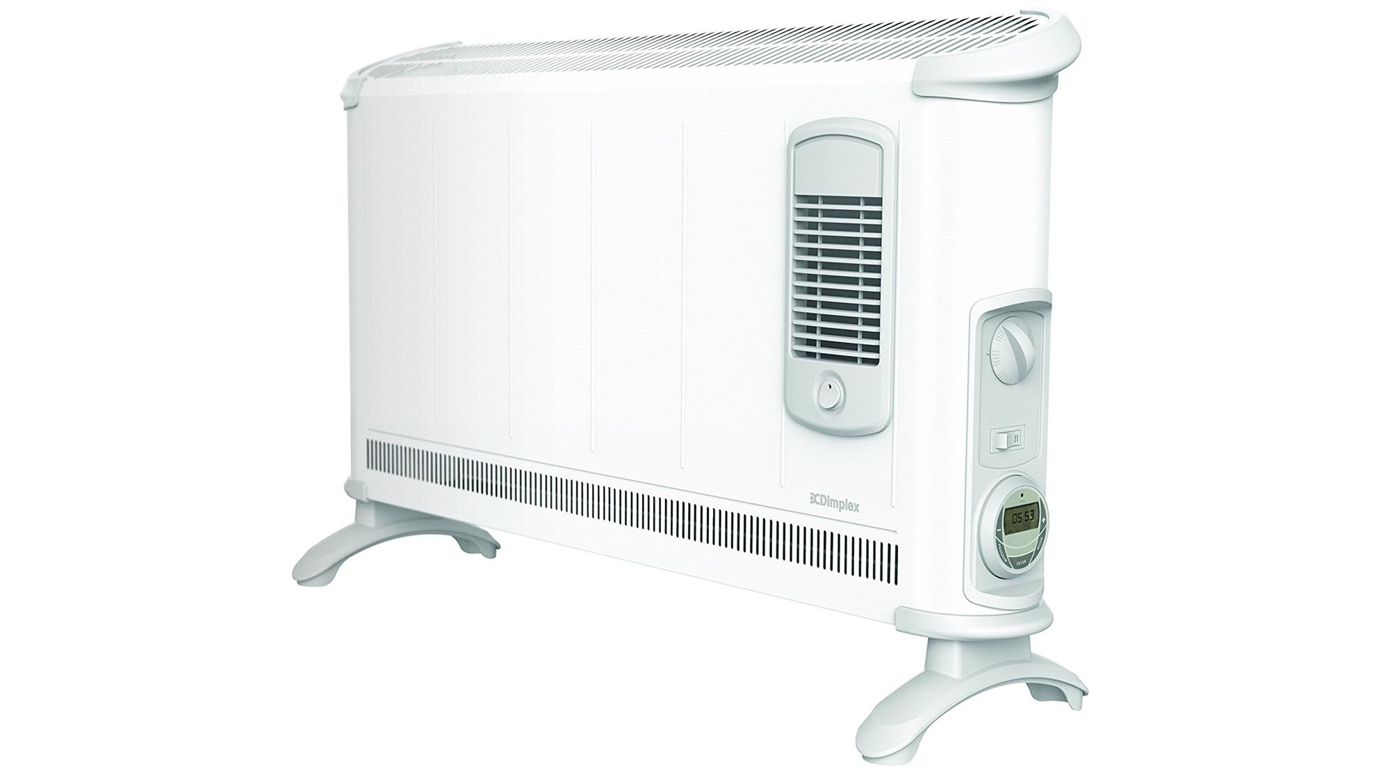It ll work as a portable heater or a fixed wall mounted unit with all fixtures and fittings provided