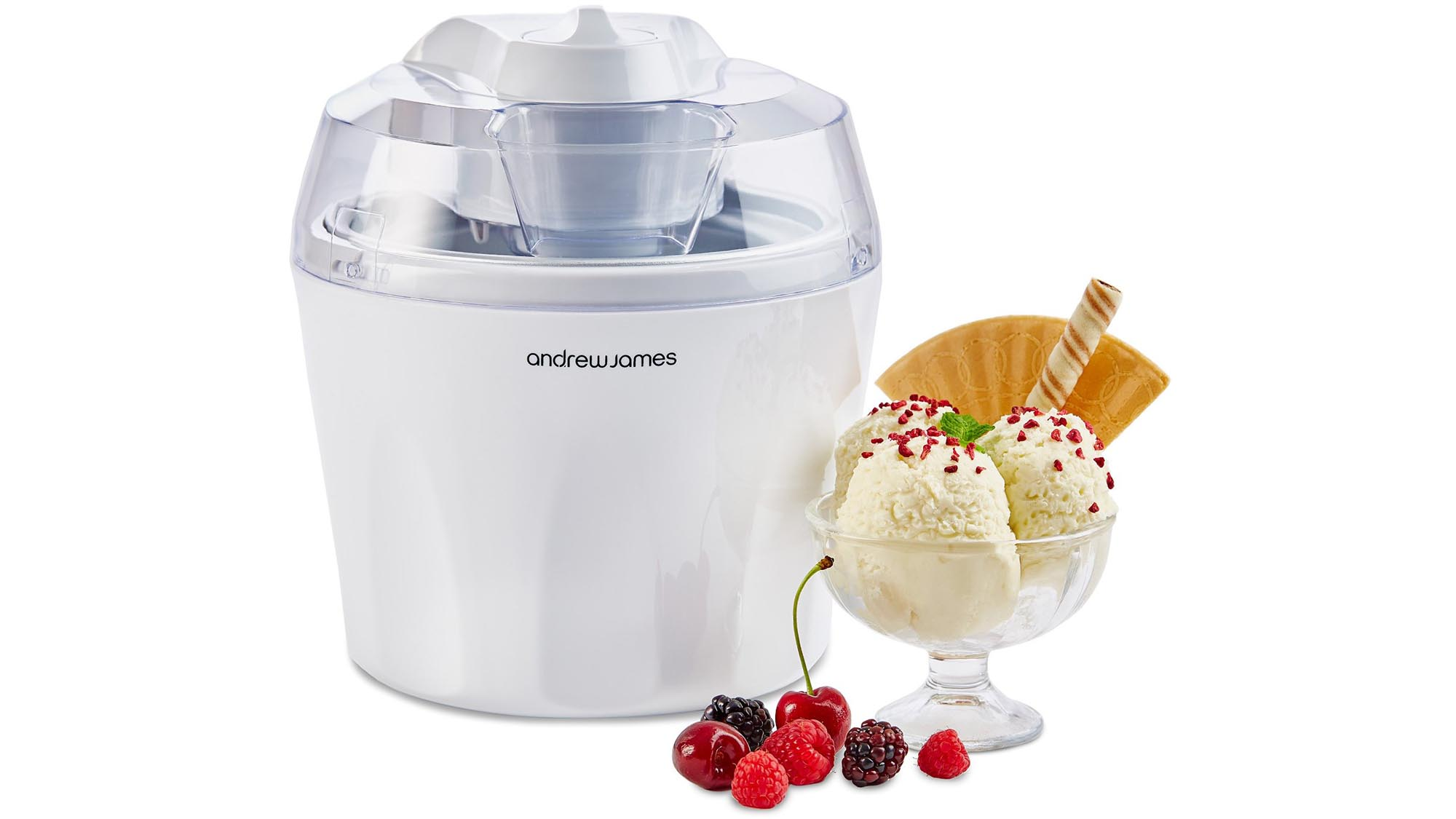 What Is The Best Ice Cream Maker Part - 18: Provided Youu0027ve Pre-frozen The Bowl For At Least 24-hours First, You Can  Whip Up Creamy, Smooth Ice-cream, Sorbet Or Frozen Yoghurt In 20 To 30  Minutes.
