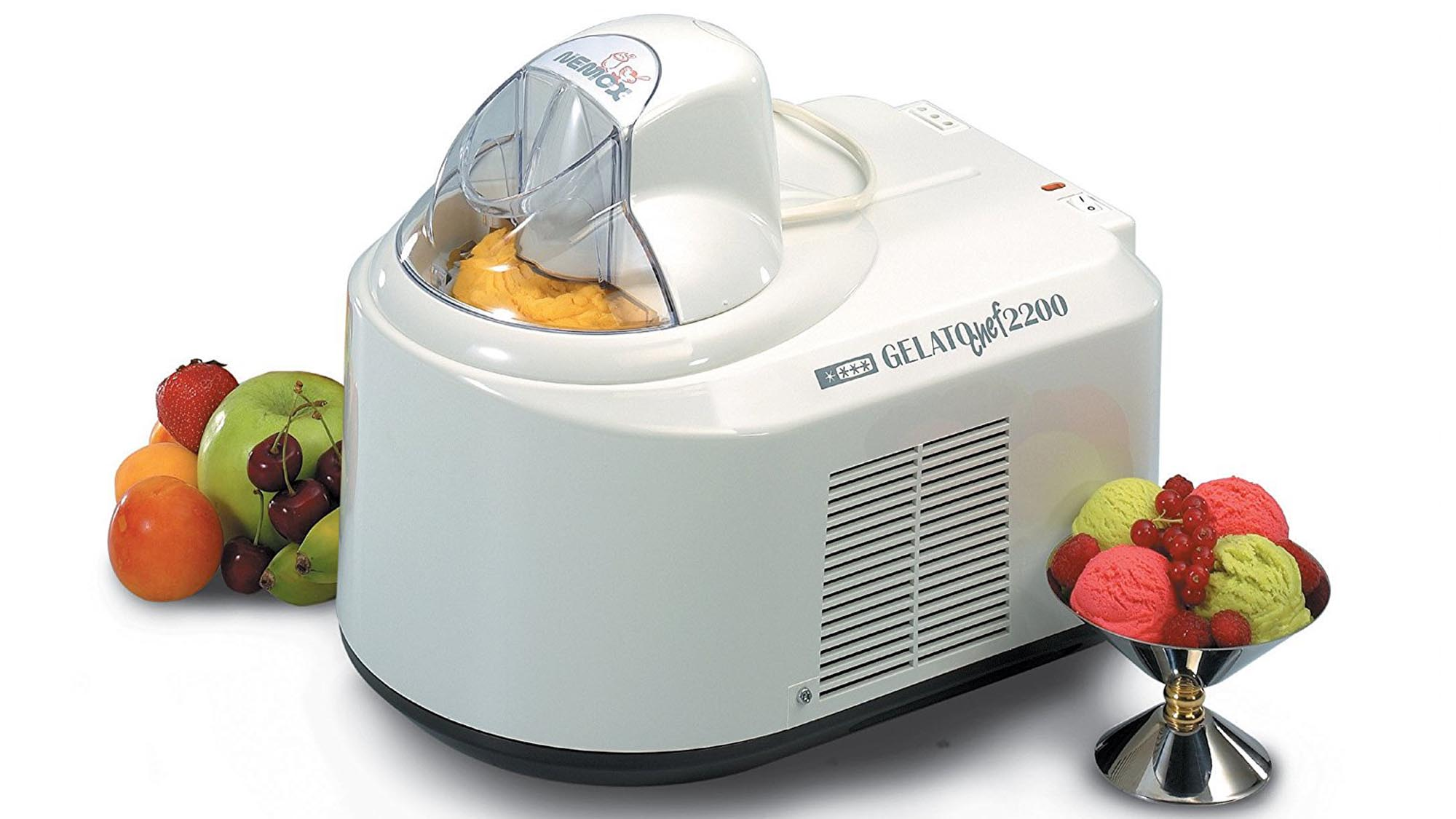 Nice What Is The Best Ice Cream Maker Part - 8: If Youu0027re Planning To Make Ice-cream For The Masses, This Is The Machine  For You. Not Only Does It Have A Bowl That Gets You A Whopping Two Pintsu0027  Worth Of ...