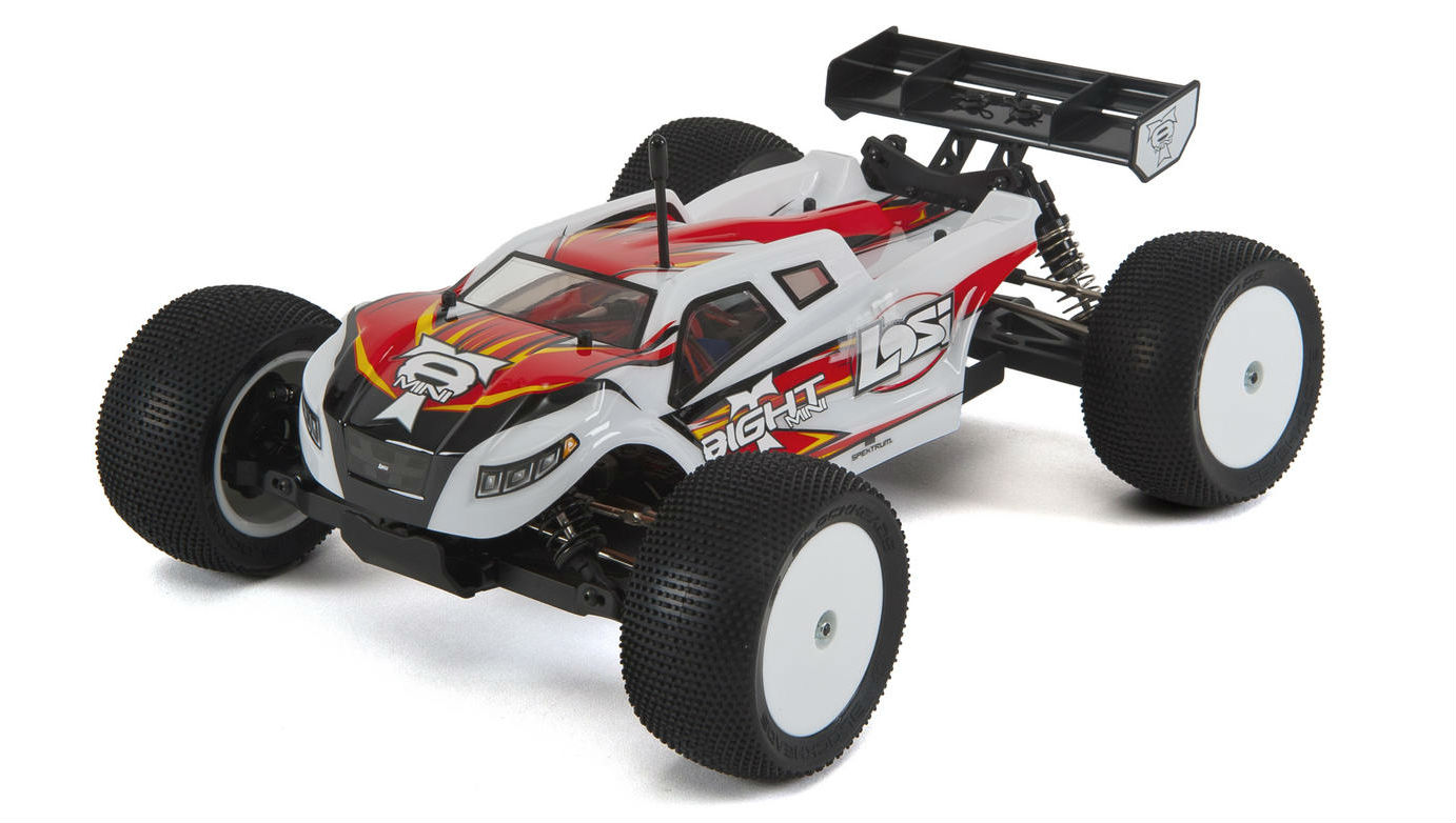 At just 319mm long this small 1 14th scale 4wd truggy half buggy half truck is eminently portable and features a top quality brushless motor for extra