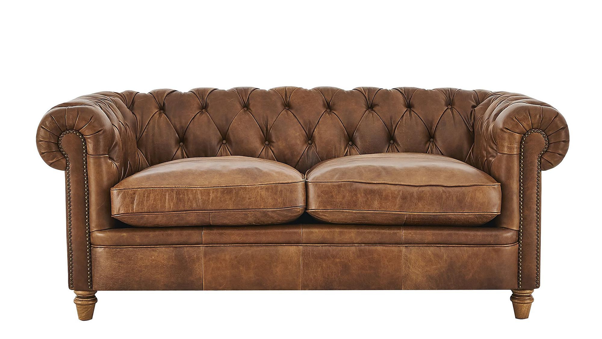 The Iconic Scrolling Arms And Deep Buttoned Back Make This A Timeless  Piece. And While The Classic Chesterfield Often Doesnu0027t Work As A  Two Seater, ...