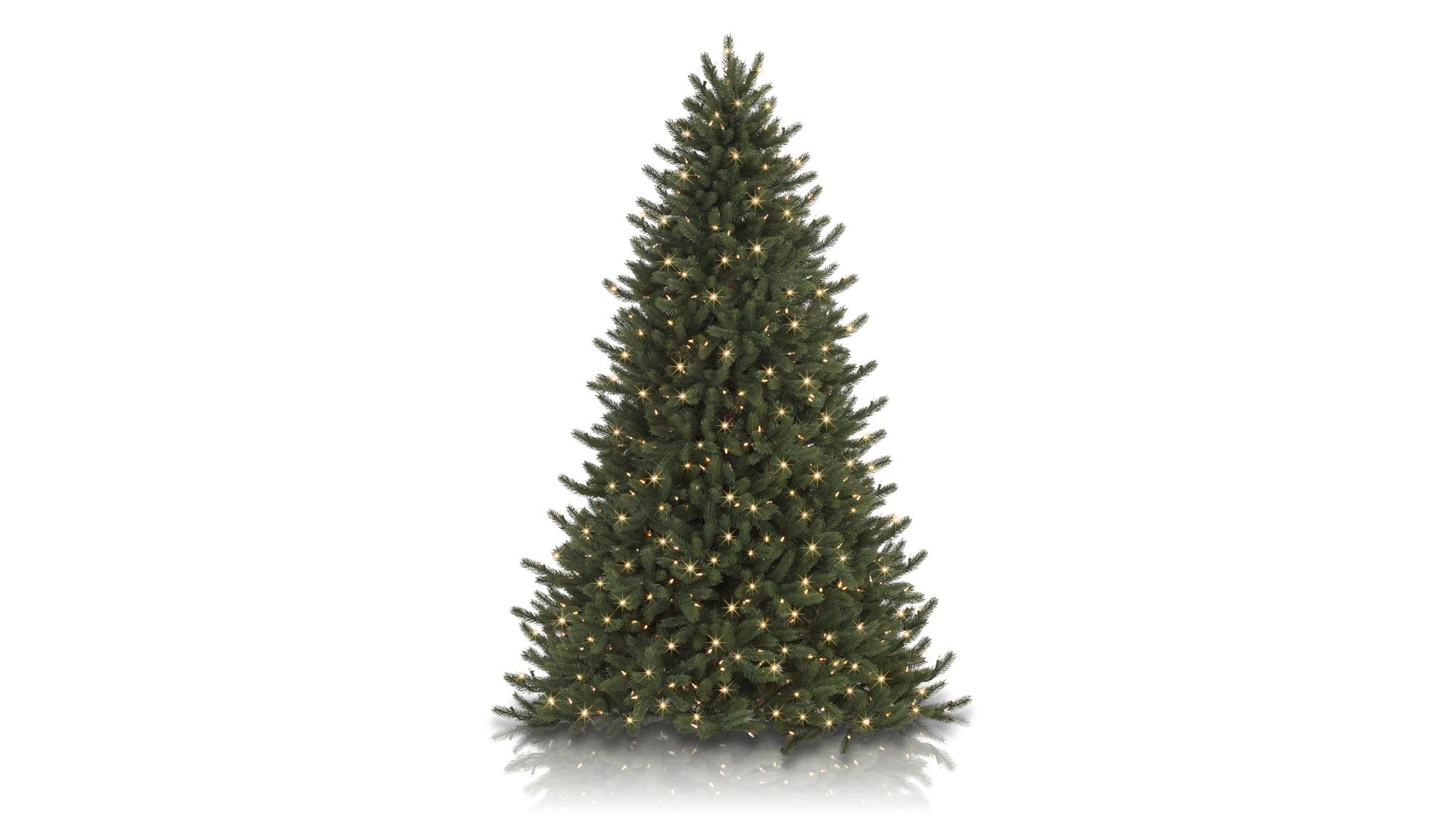 your friends and family will have to get pretty close to this authentic looking tree before they realise it isnt real modelled on the picea glauca known - Real Christmas Tree Prices
