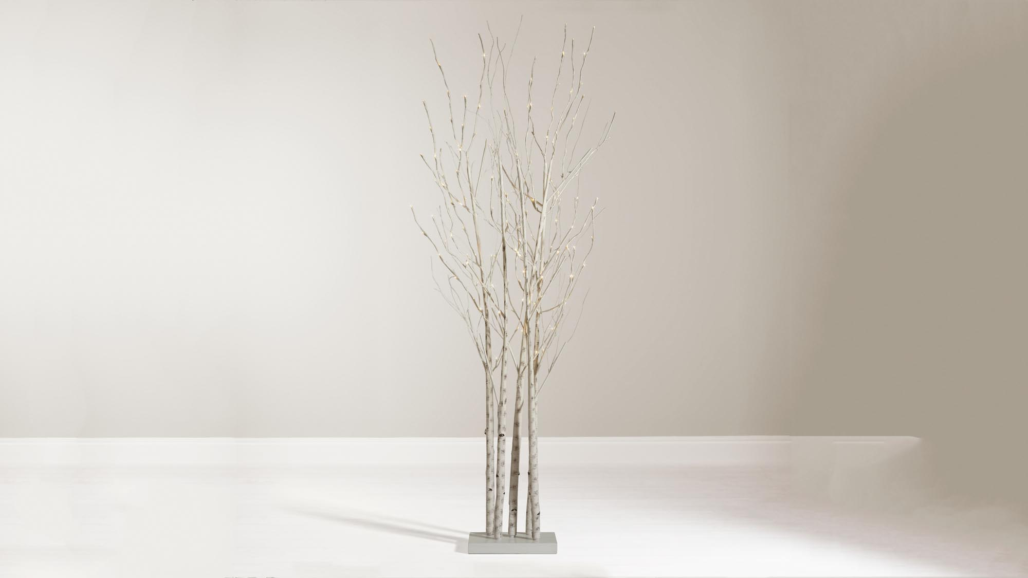 A Great Tree For Less Conformist Folk, This Cluster Of Birch Branches Is  Simple To Put Together And Comes Pre Lit To Look Striking In Homes With  More ...