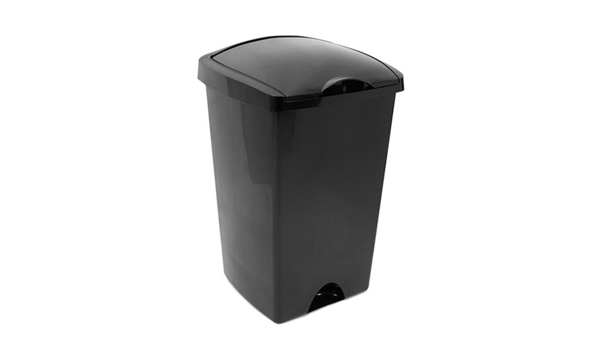 This Cheap As Chips Flip Top Plastic Bin Is A Fabulous No Frills  Budget Buy. And While It Might Look Like A Zillion Other Ones Like It On  The Market, ...
