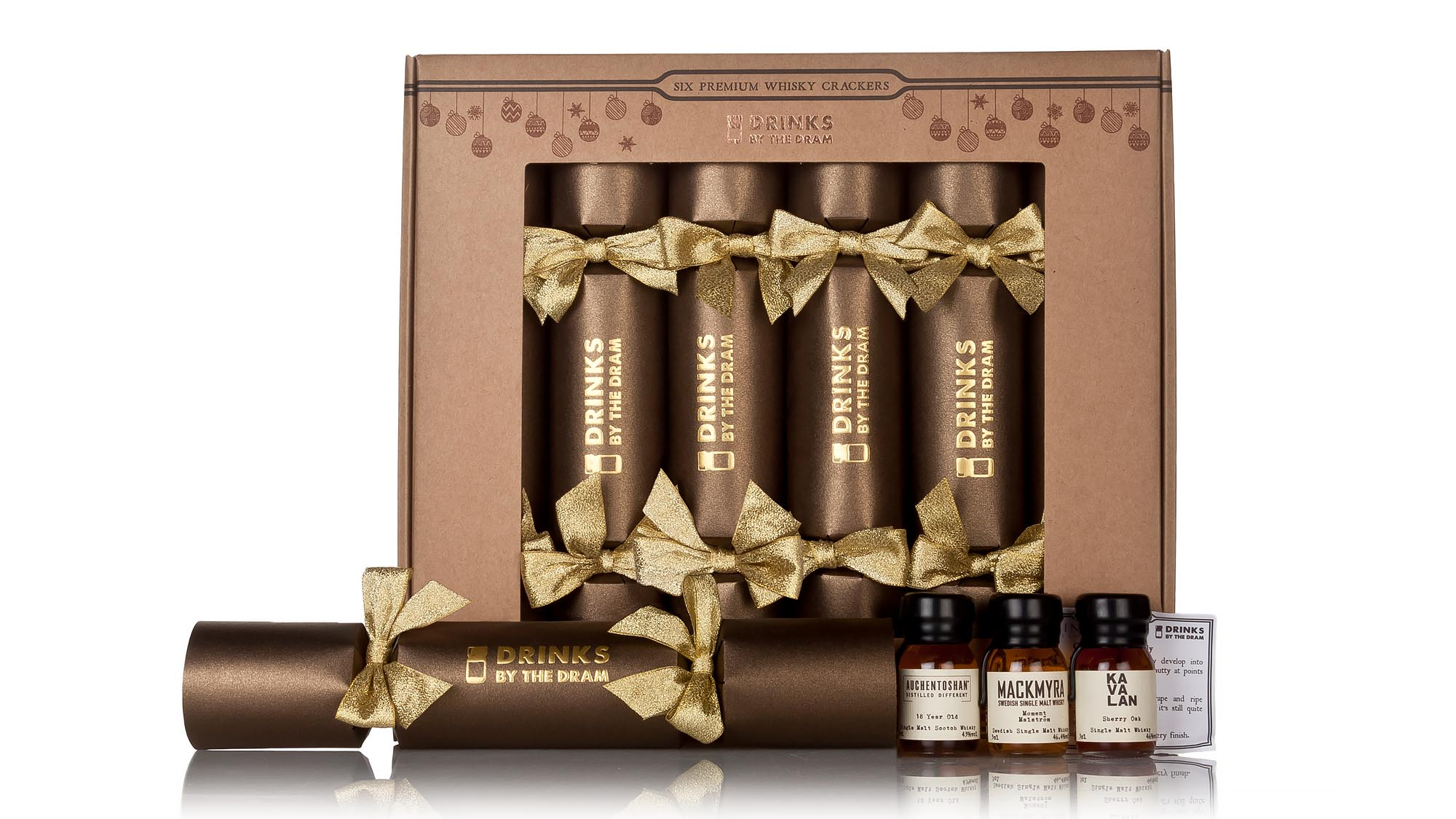 Best christmas crackers make your holiday season go with a bang whisky has long been a popular tipple on christmas day and these smart brown and gold crackers are likely to put an extra big smile on your guests faces solutioingenieria Choice Image