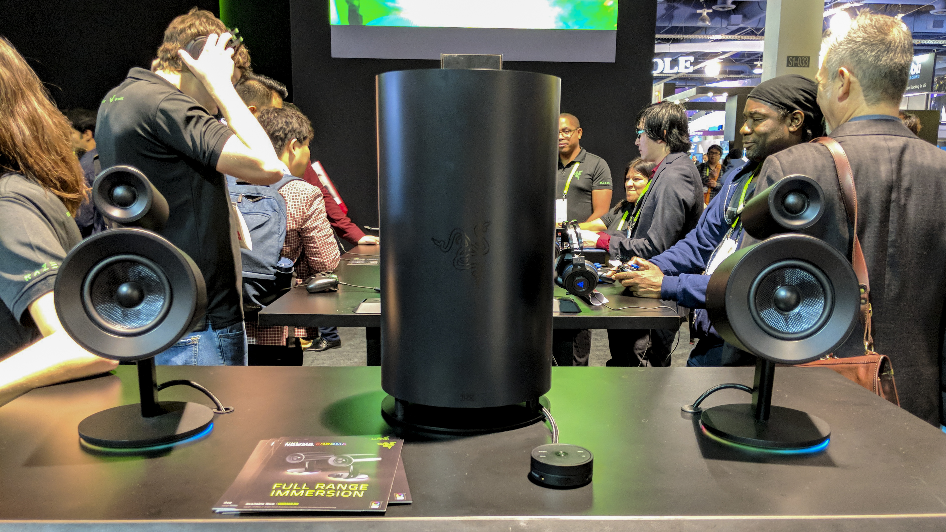 Razer Nommo Pro Review Hands On With Razer S Gaming