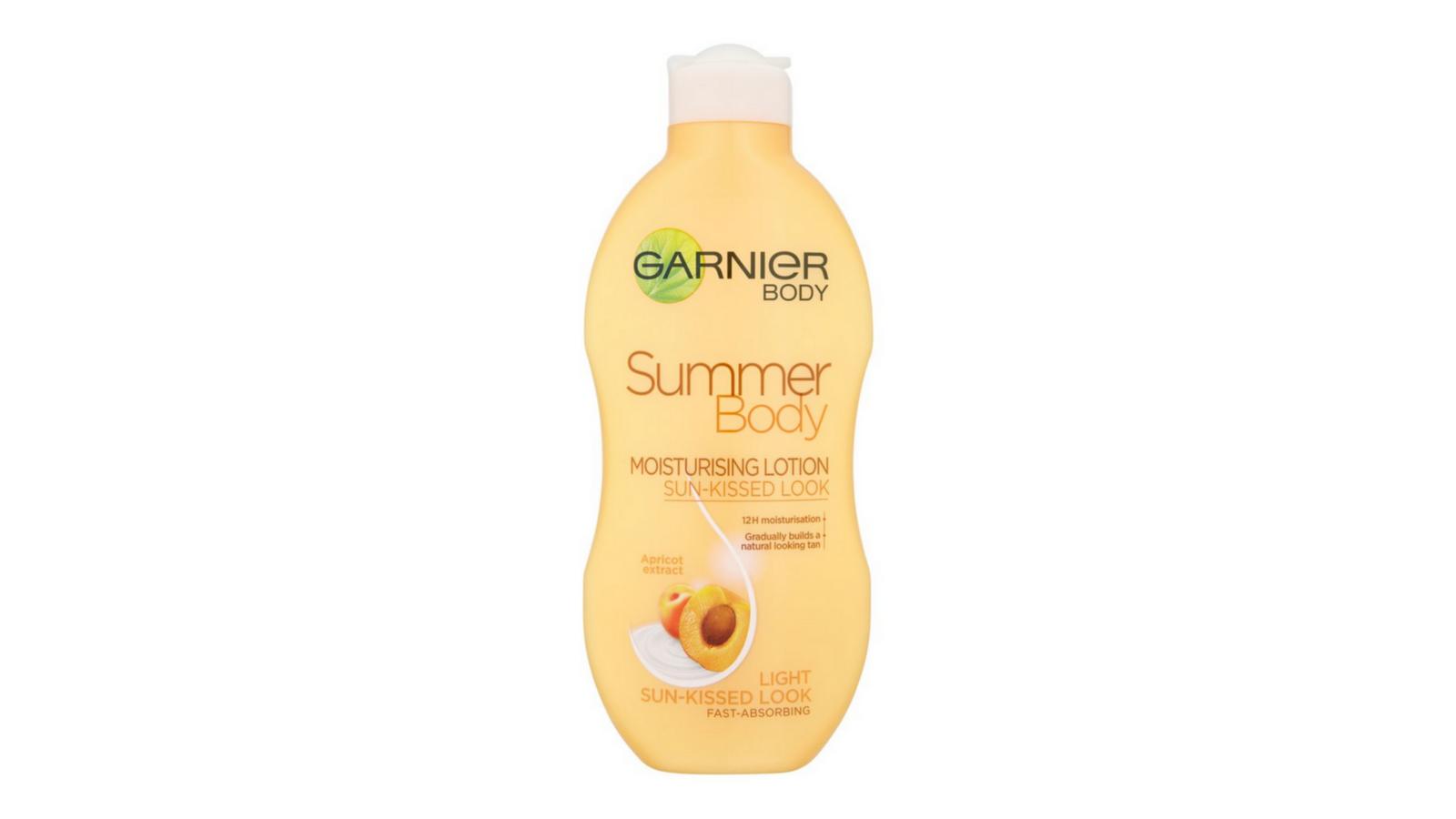 garnier summer body instructions