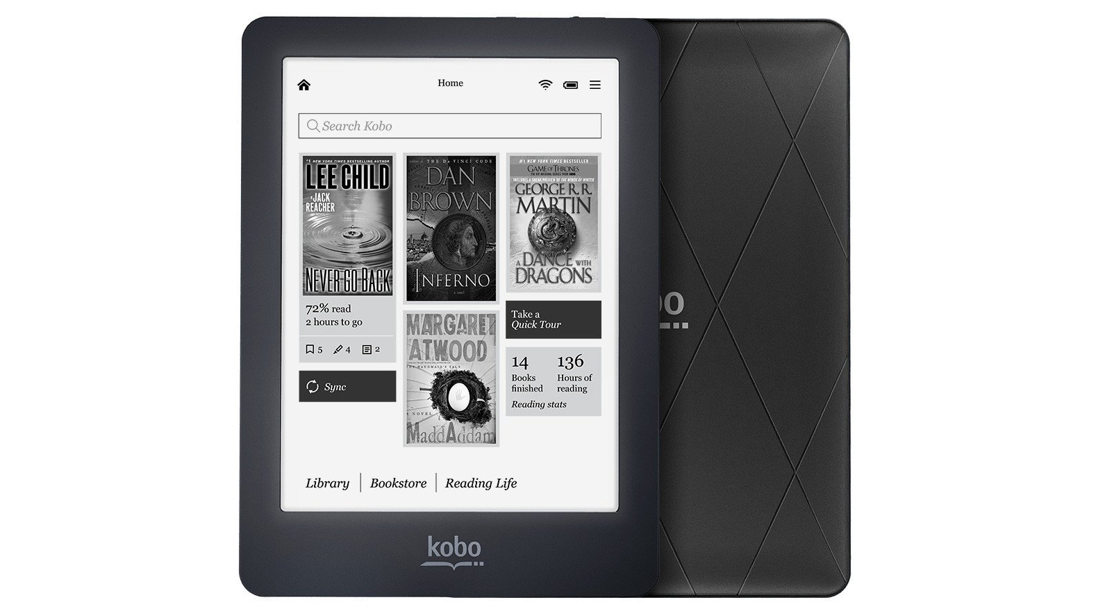 Best ebook reader to buy in 2018 kindle and kobo battle it out despite being more satisfying to say out loud the glo is kobos second best model after the aura fandeluxe Image collections