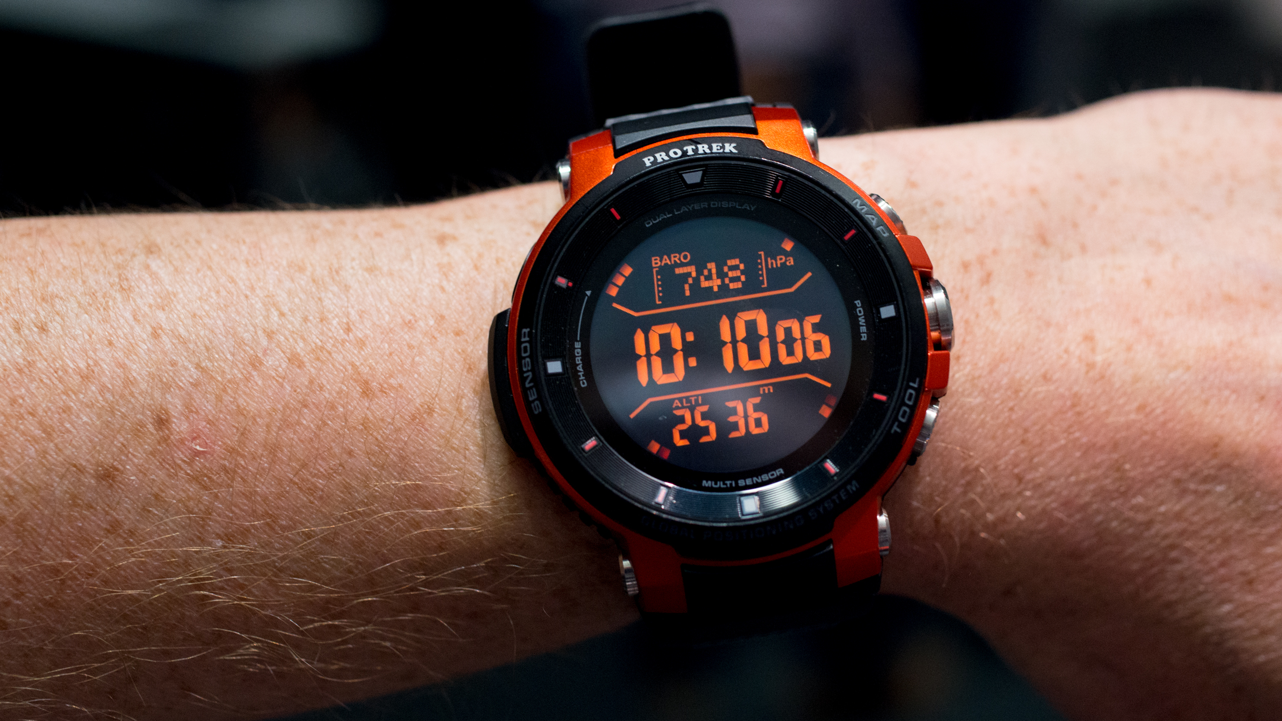 Casio Pro Trek WSD F30 review: Hands on with Casio's tough