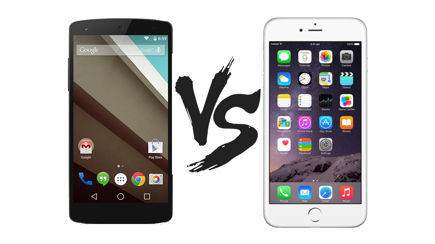 Phone Iphones Compared To Android Phones android 5 0 lollipop vs ios 8 which is best expert reviews
